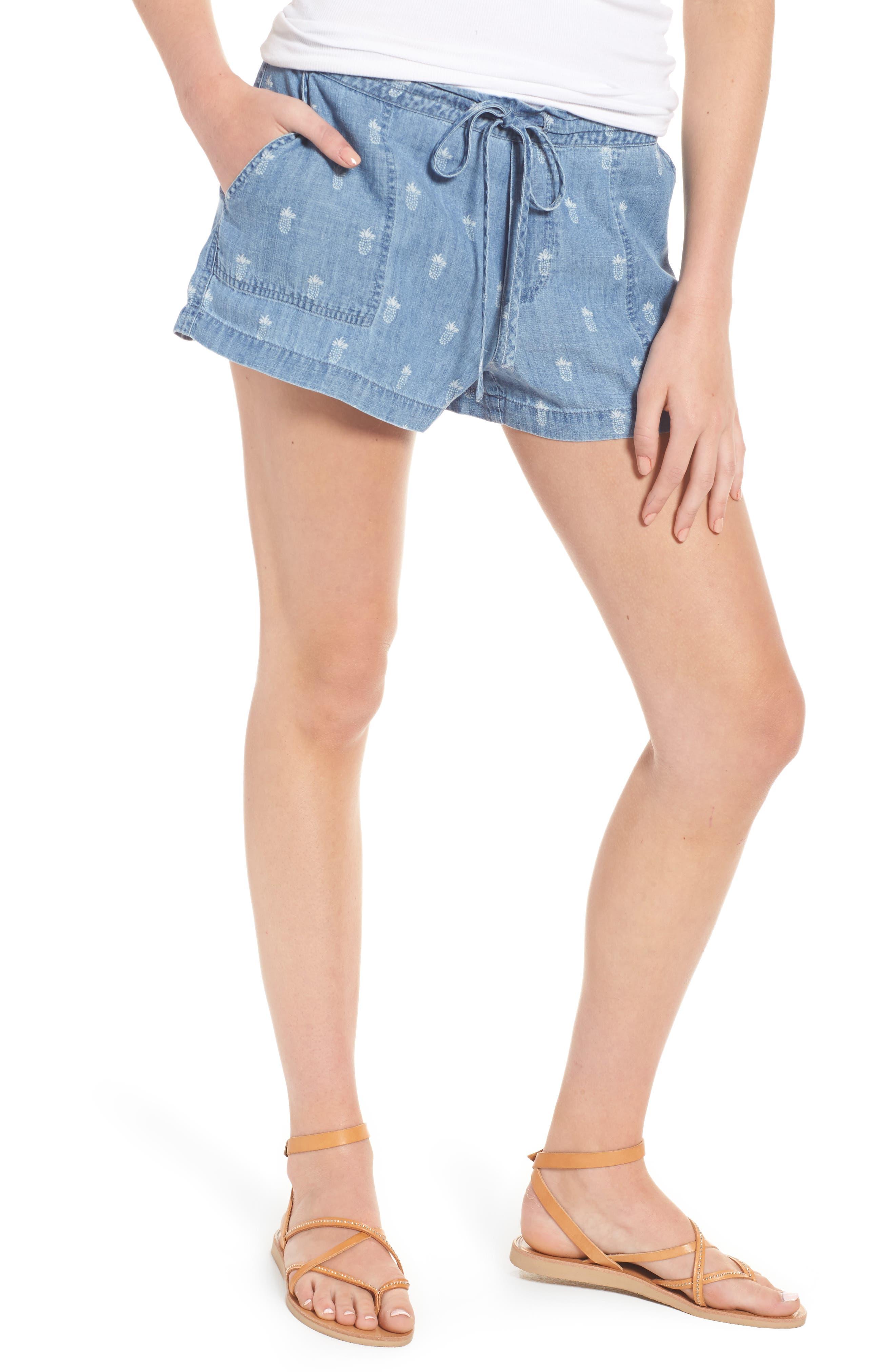 RAILS Selma Pineapple Print Shorts