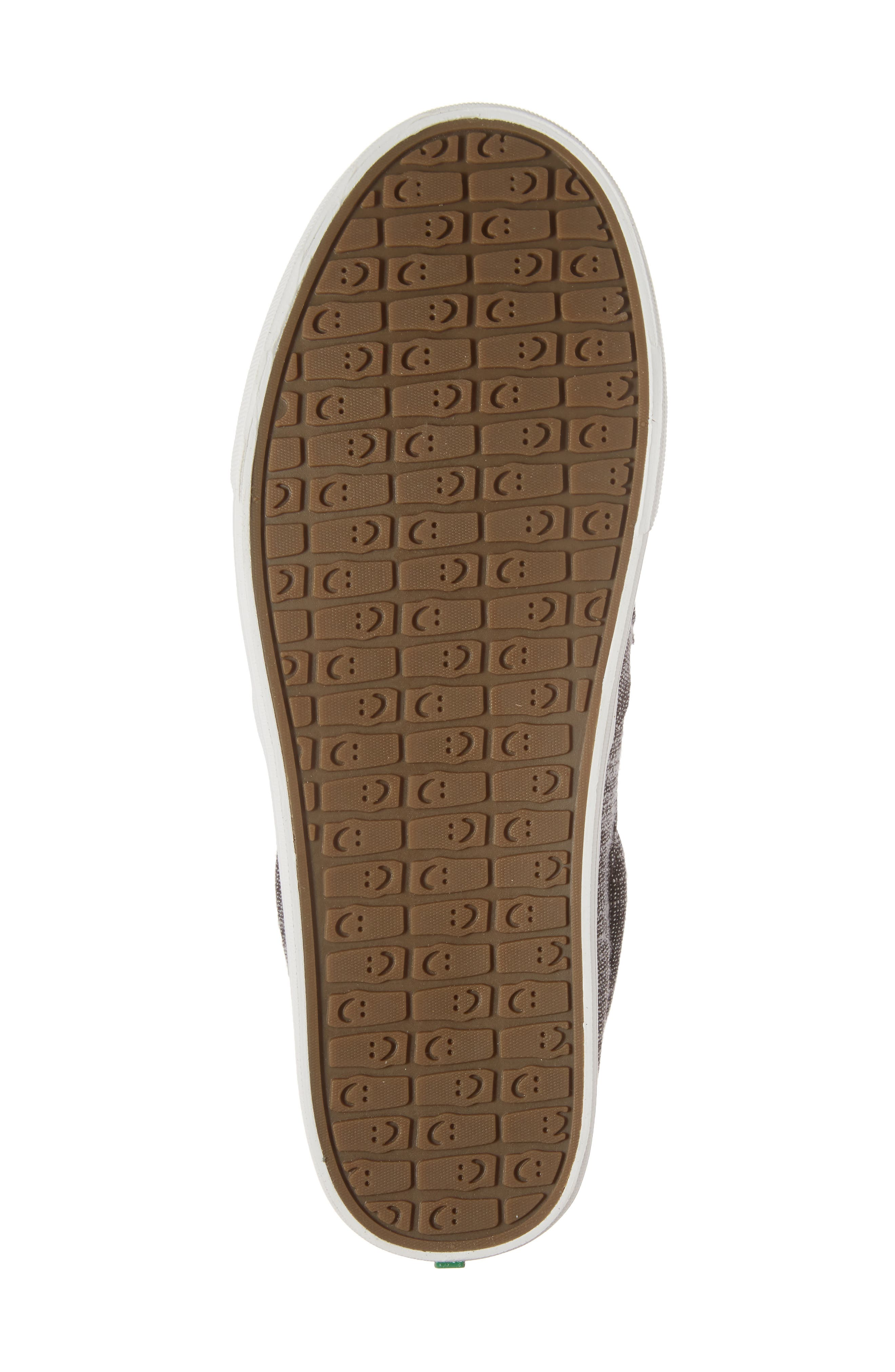 'Sideline' Linen Slip-On,                             Alternate thumbnail 6, color,                             Brown