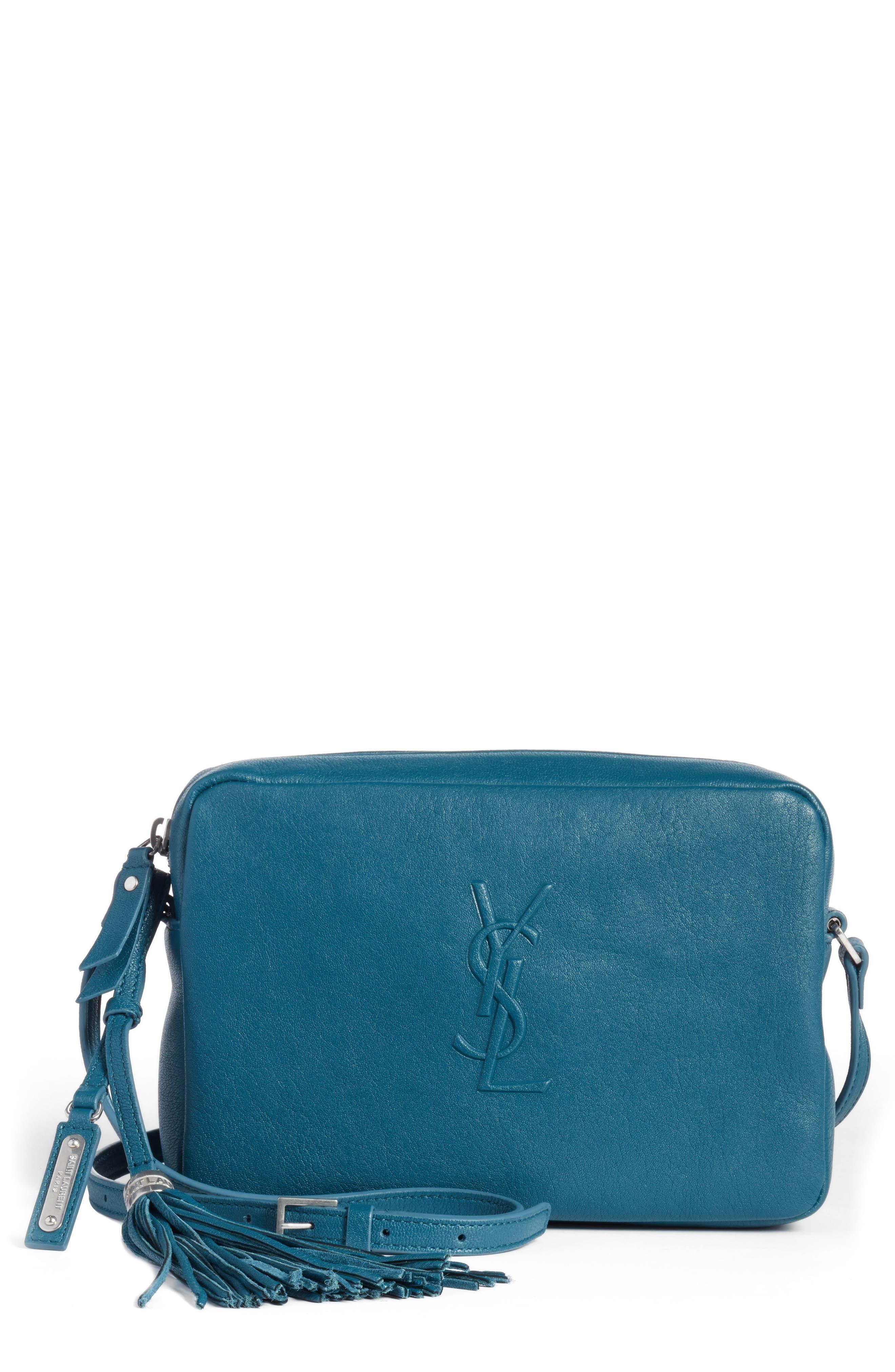 Alternate Image 1 Selected - Saint Laurent Small Mono Leather Camera Bag
