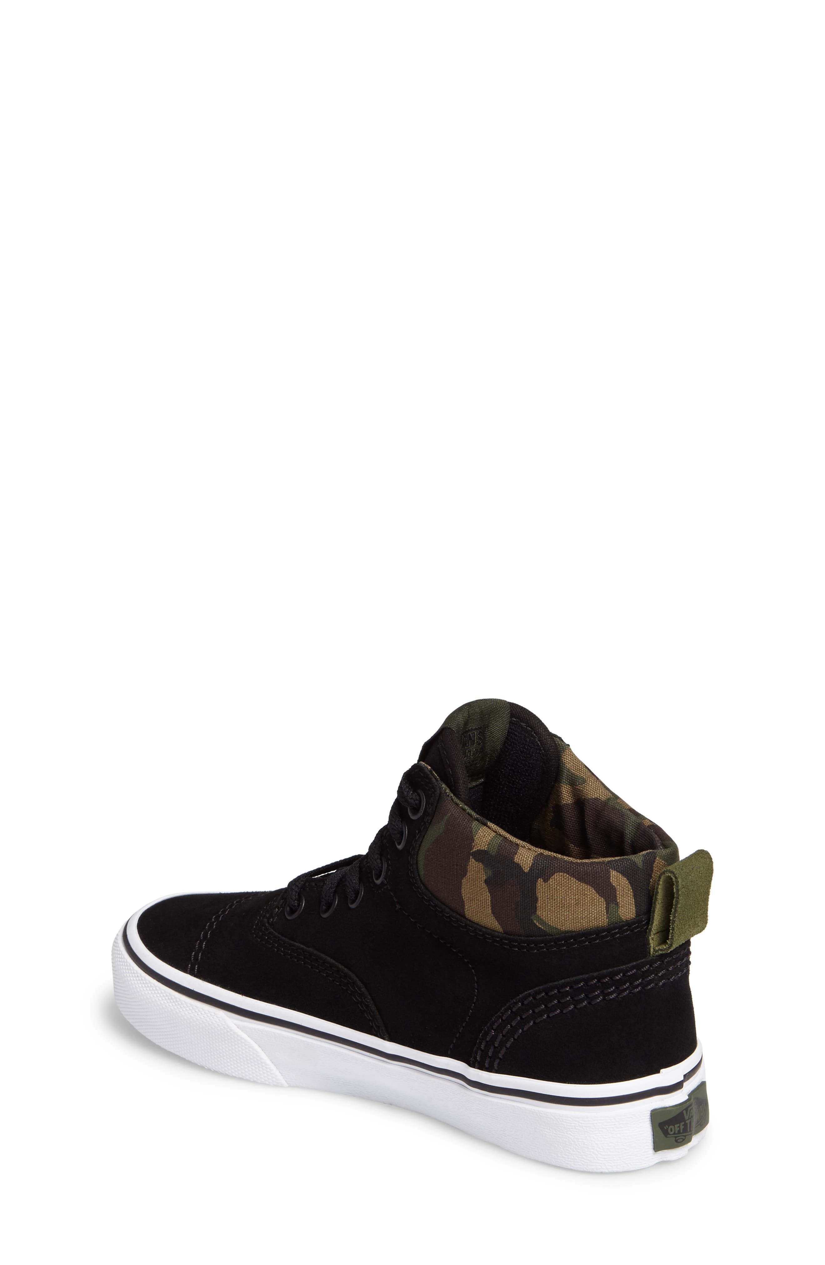Era - Hi Sneaker,                             Alternate thumbnail 2, color,                             Classic Camo/ Black Suede