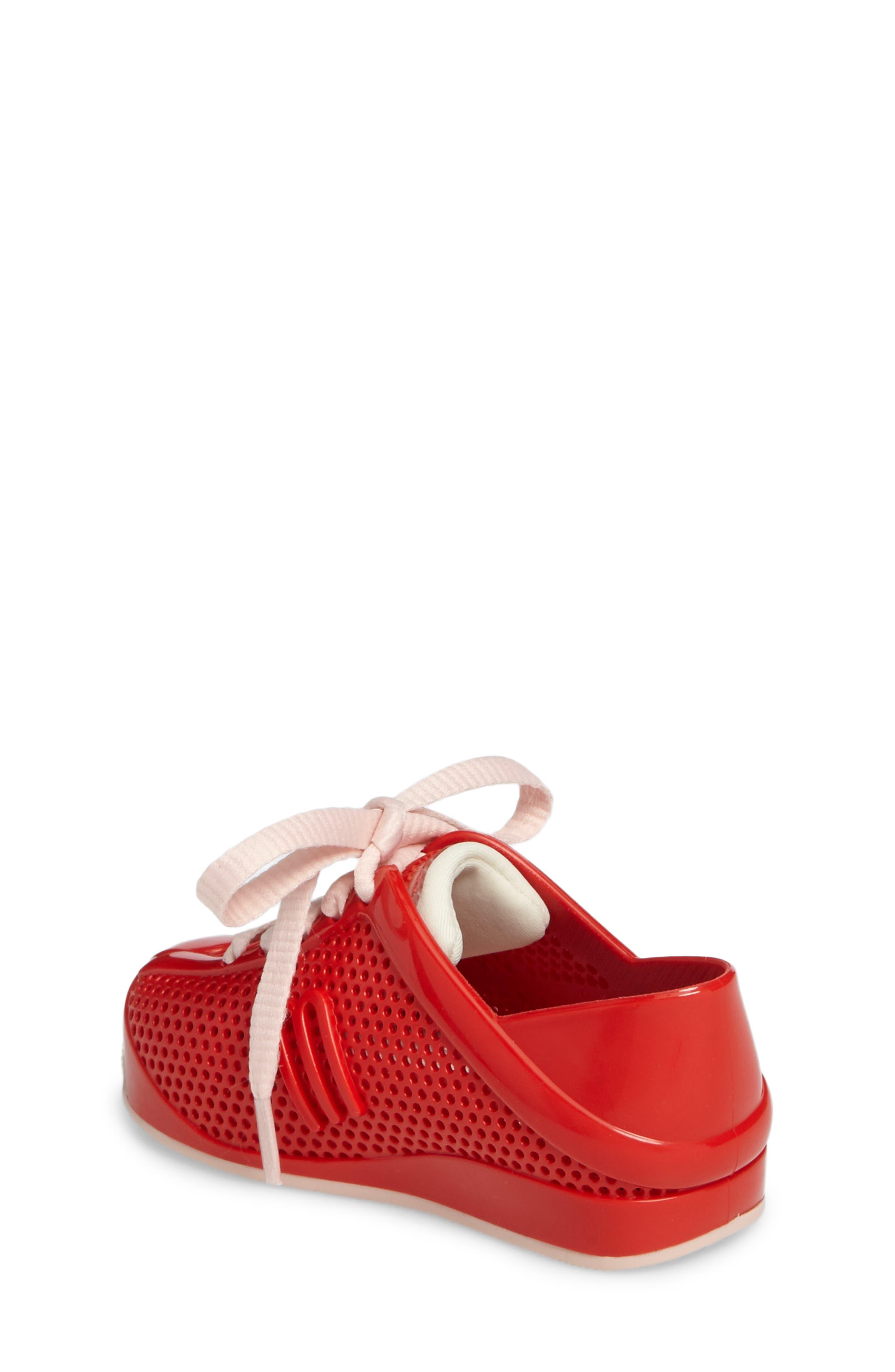 'Love System' Sneaker,                             Alternate thumbnail 2, color,                             Red