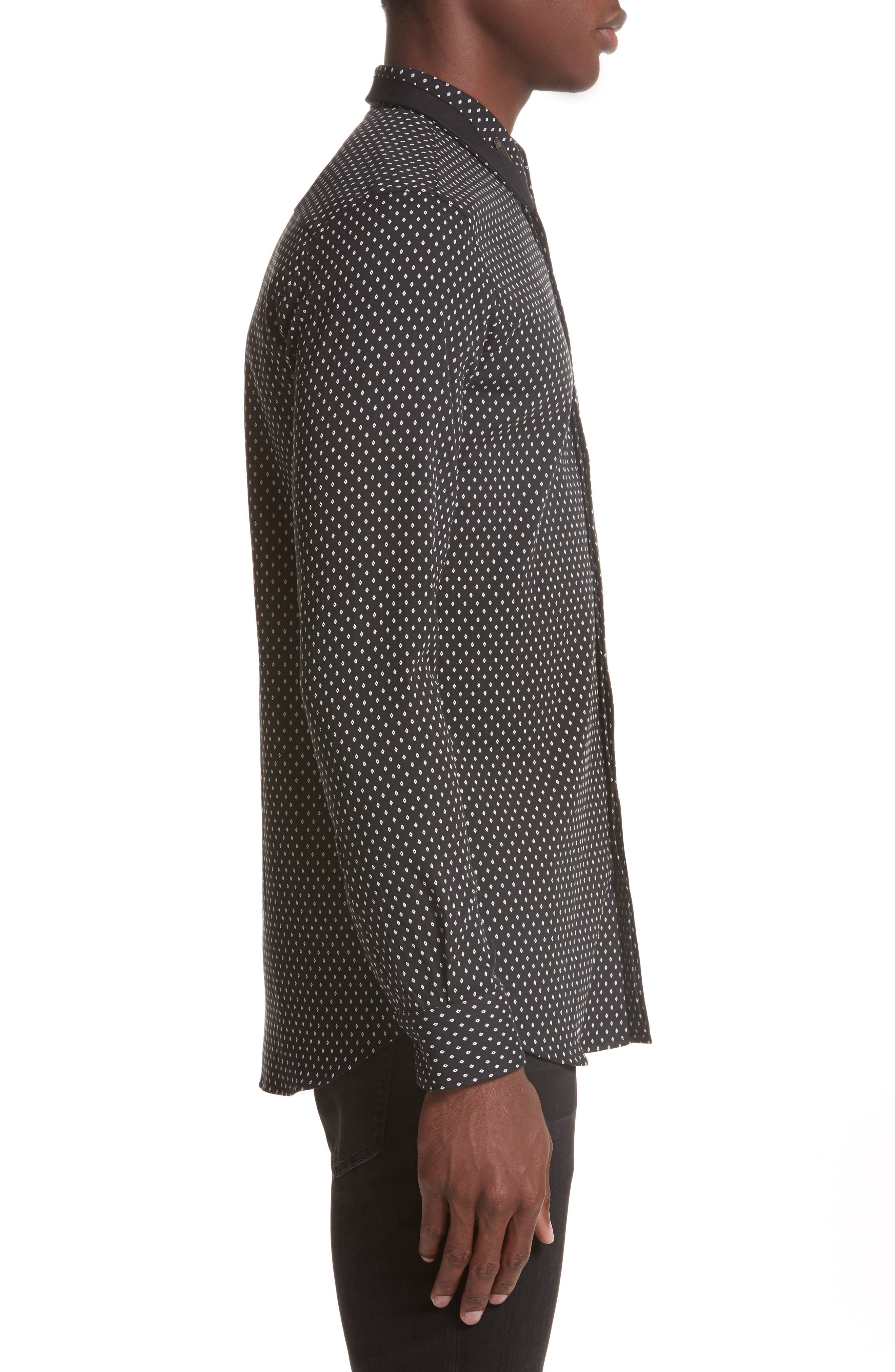 Alternate Image 3  - Givenchy Jacquard Collar Stay Shirt