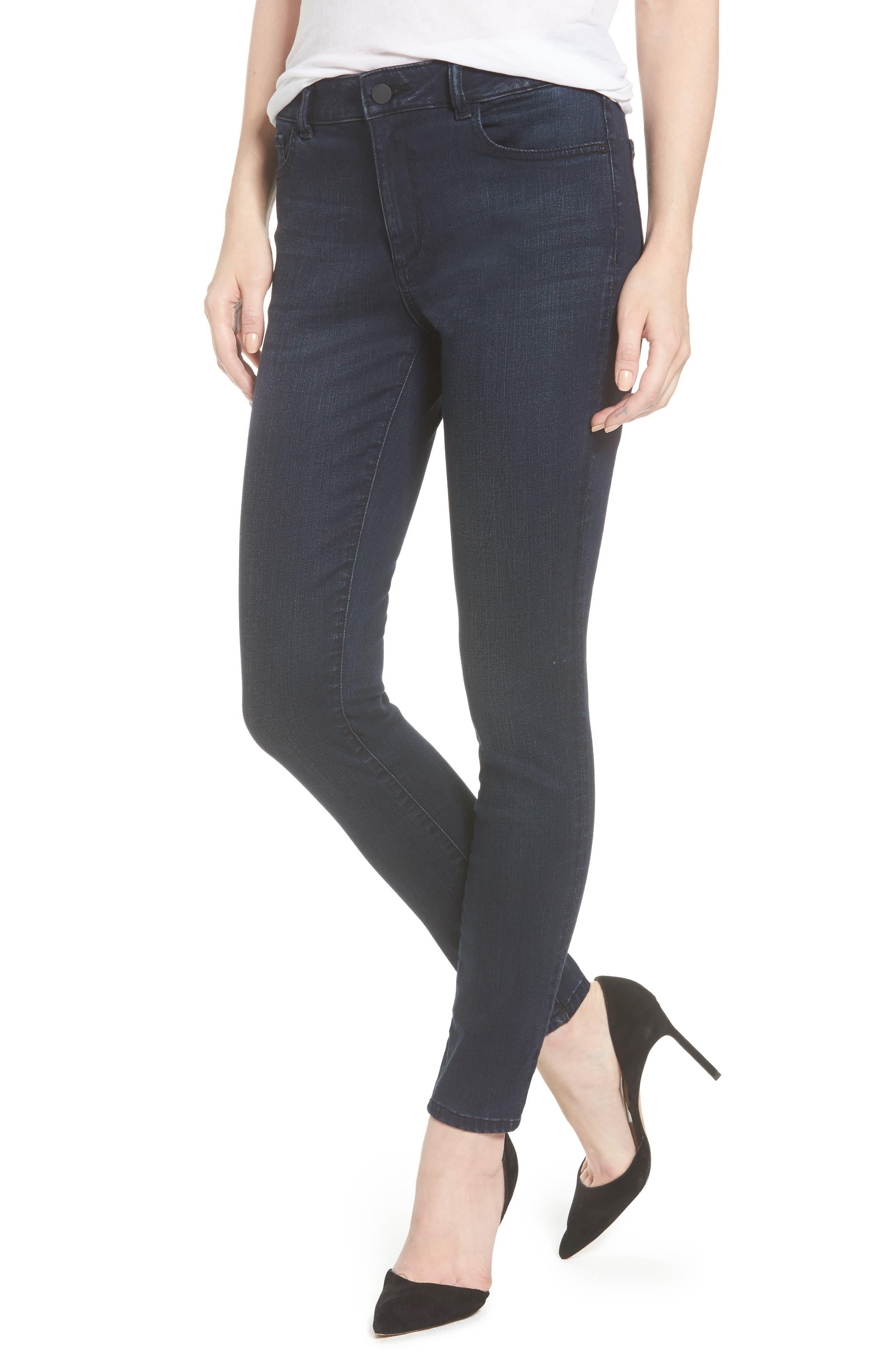 DL1961 Farrow High Waist Instaslim Skinny Jeans (Equinox)