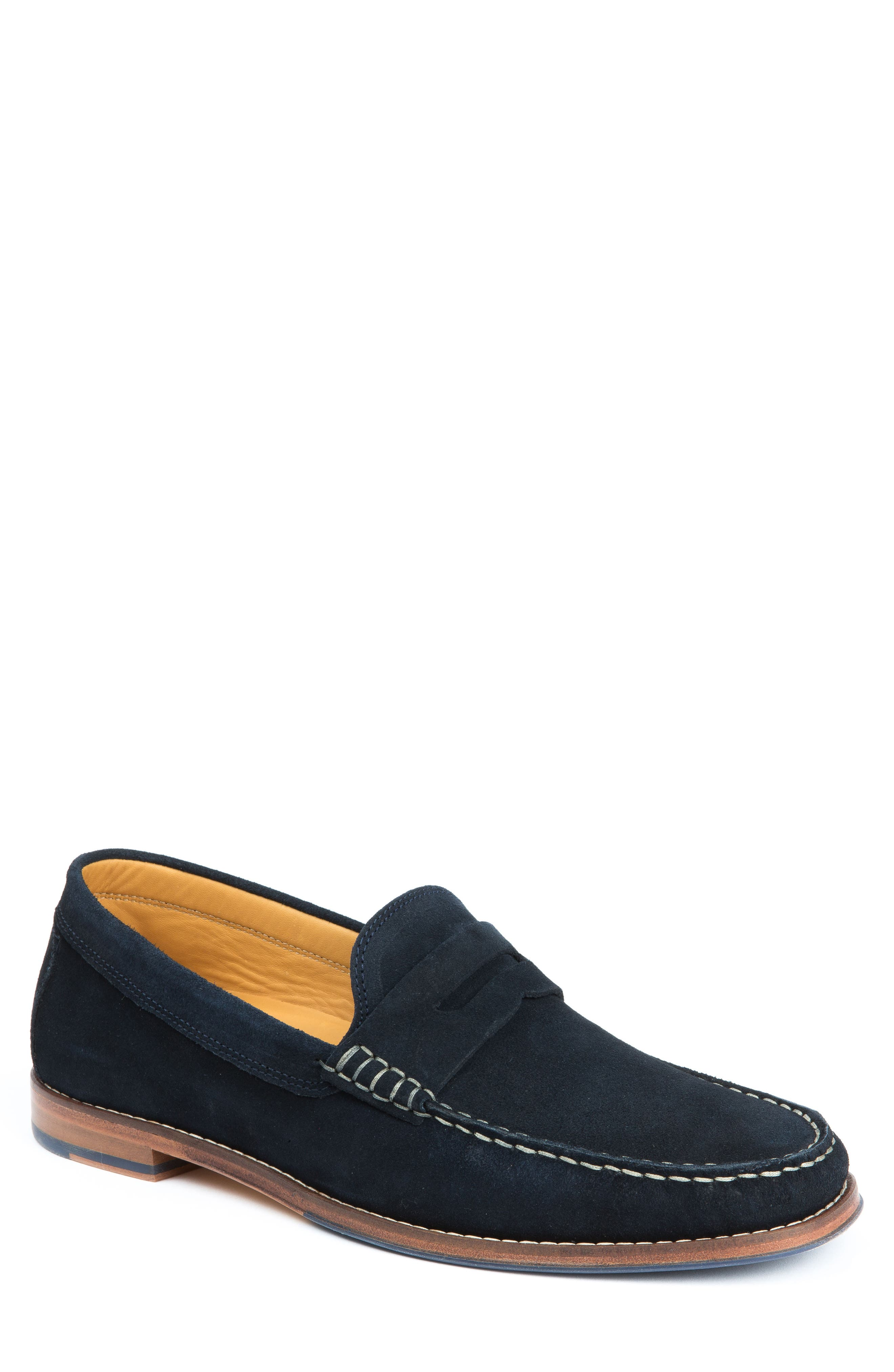 Ripleys Penny Loafer,                             Main thumbnail 1, color,                             Navy Suede