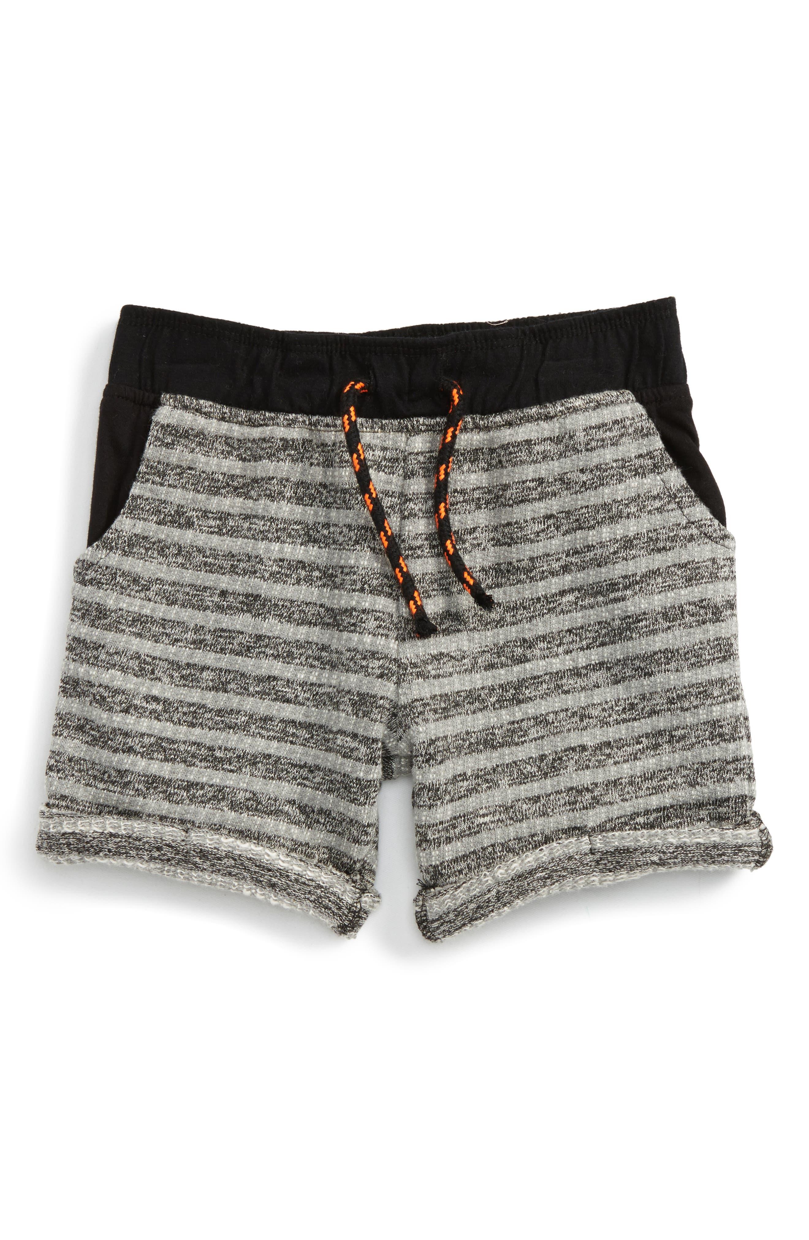 Alternate Image 1 Selected - Peek Jordan Stripe Shorts (Toddler Boys, Little Boys & Big Boys)
