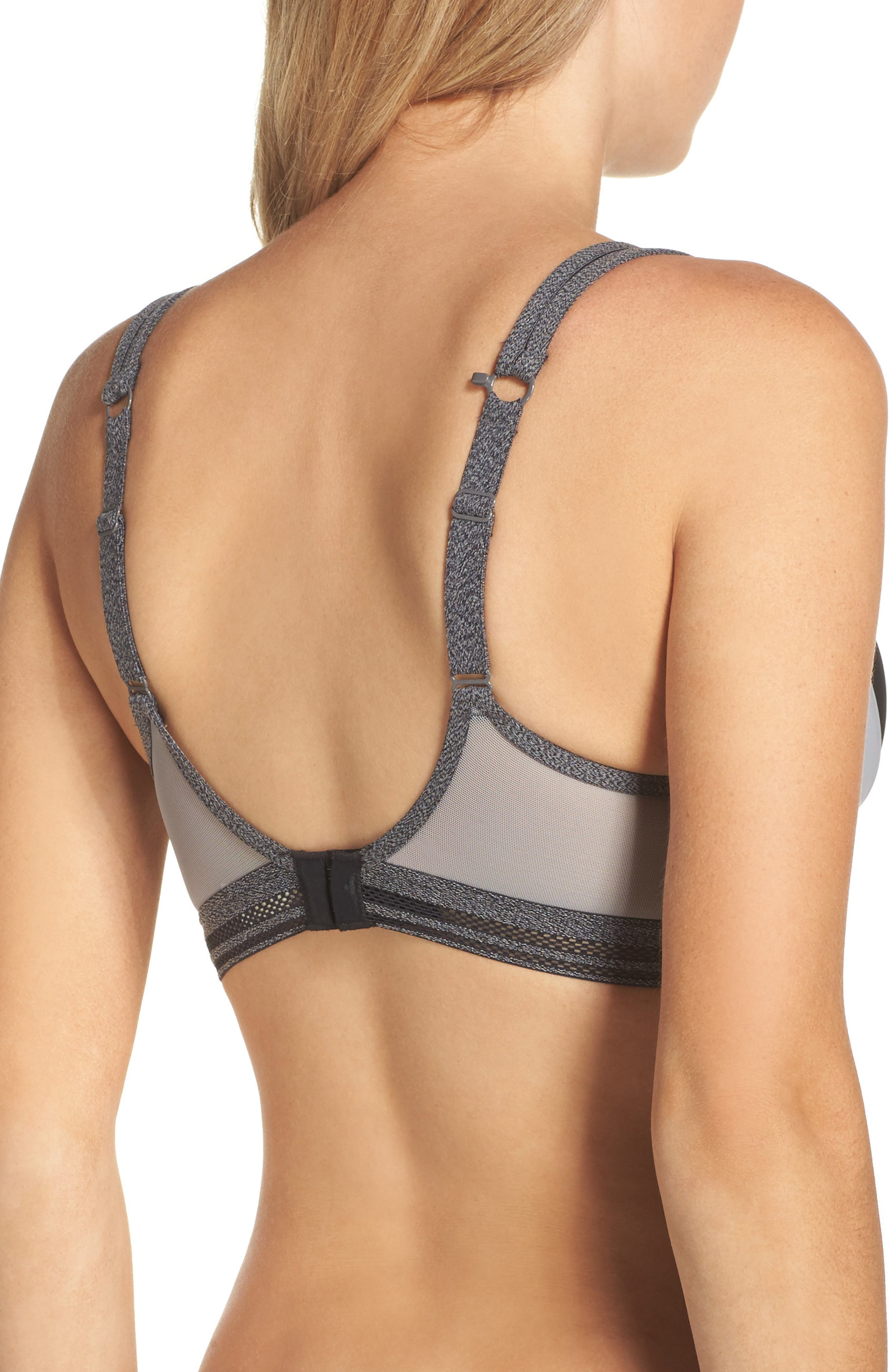 Active Uplift Underwire Sports Bra,                             Alternate thumbnail 2, color,                             Charcoal