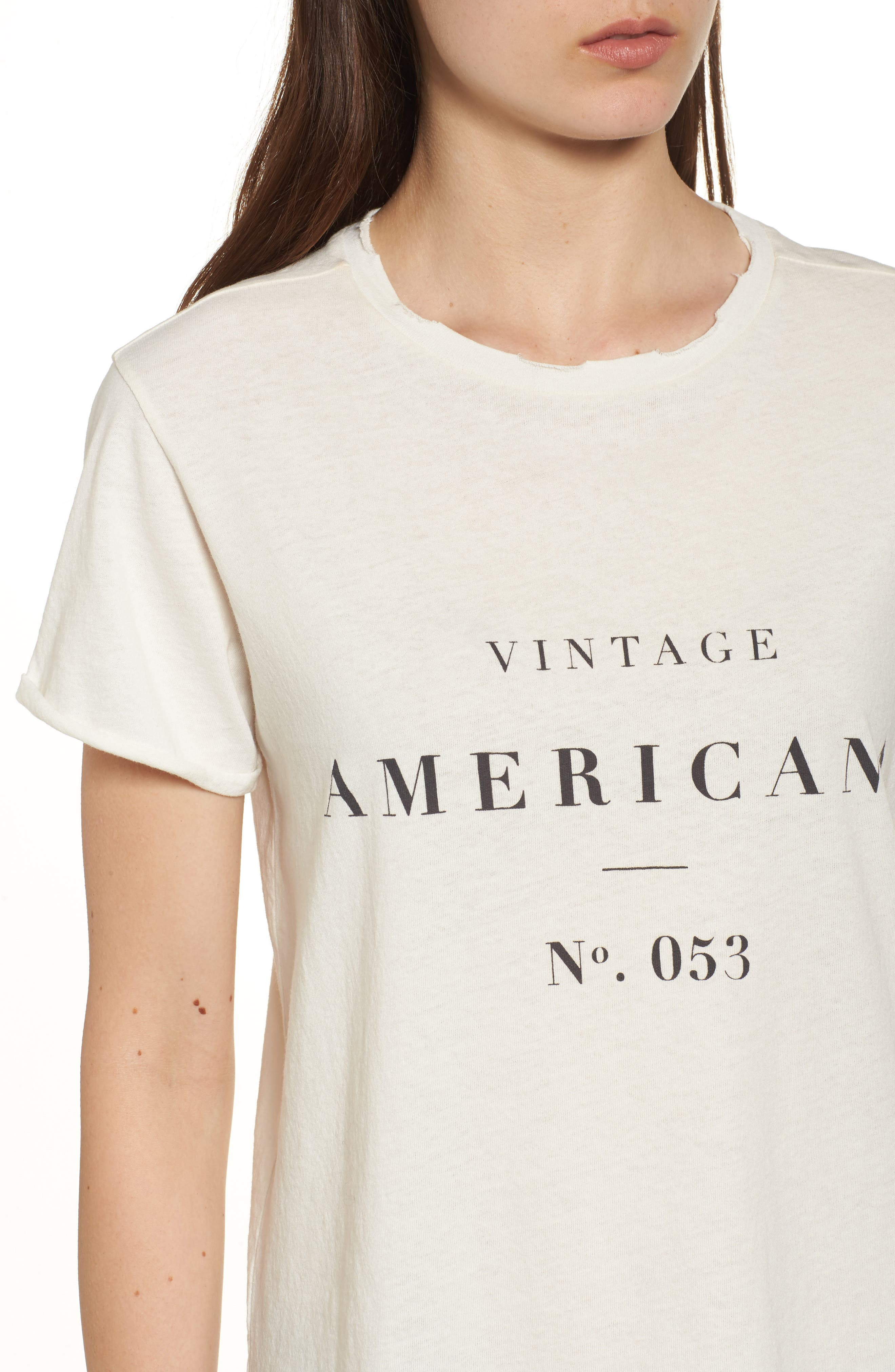 Alternate Image 4  - Sincerely Jules Americana Tee