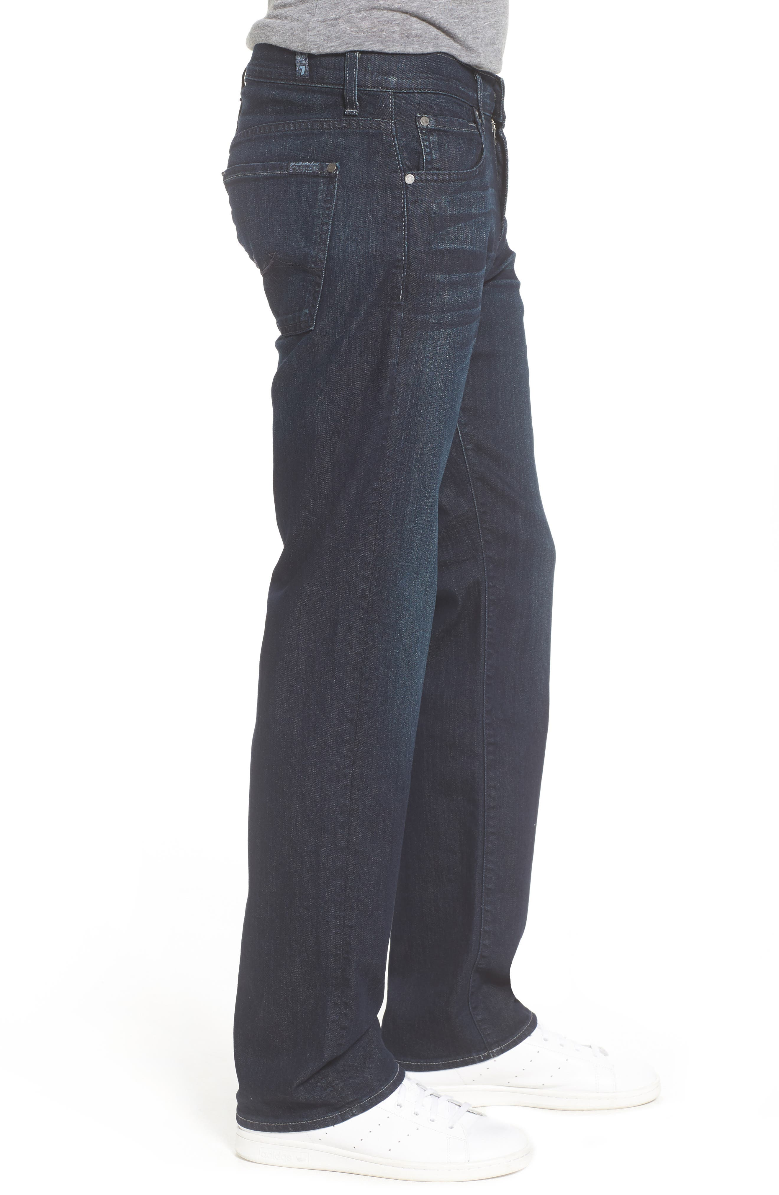 Alternate Image 3  - 7 For All Mankind® Airweft - Austyn Relaxed Straight Leg Jeans (Perennial)