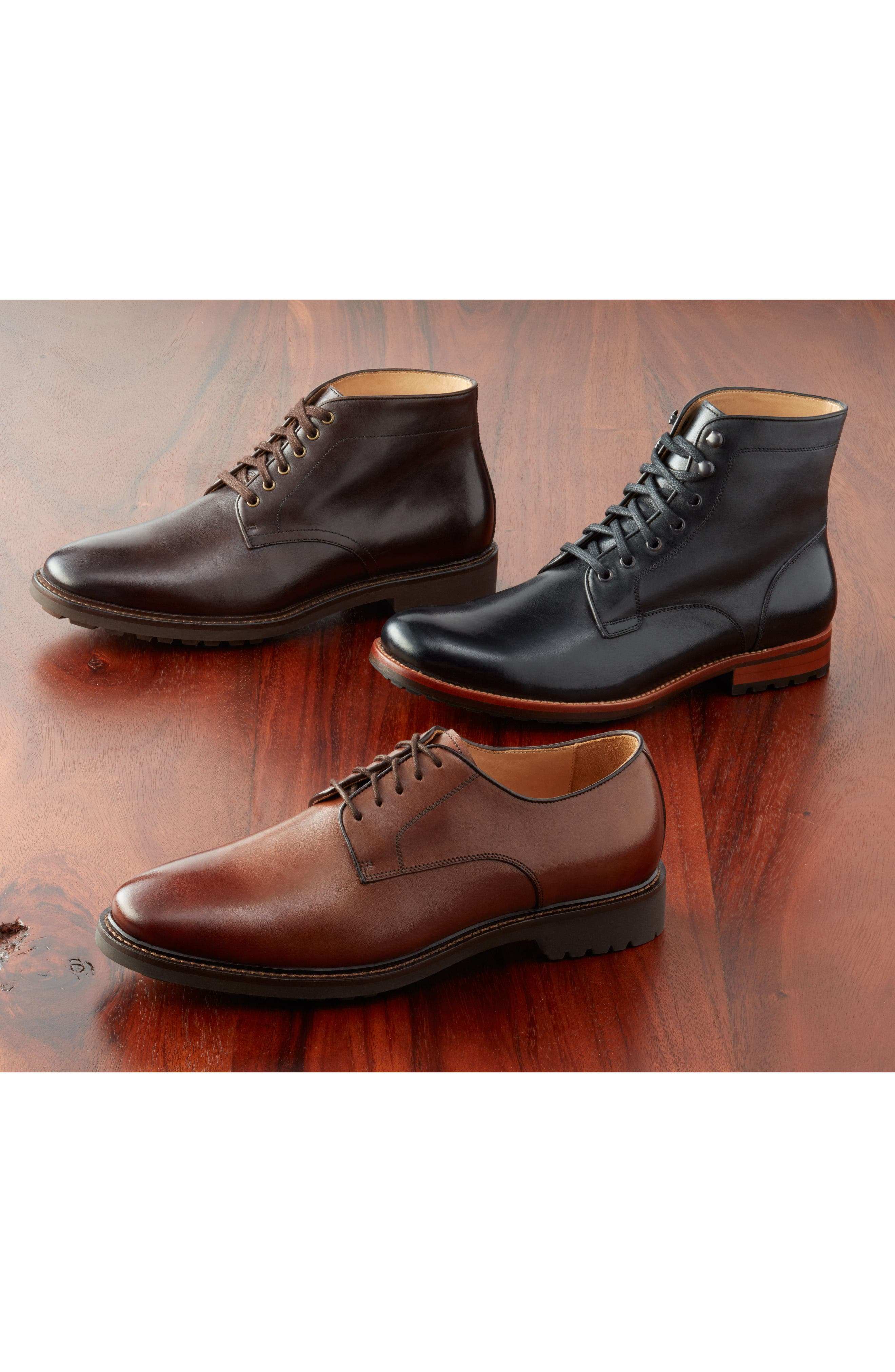 Alternate Image 7  - John W. Nordstrom® Axeford Plain Toe Boot (Men)