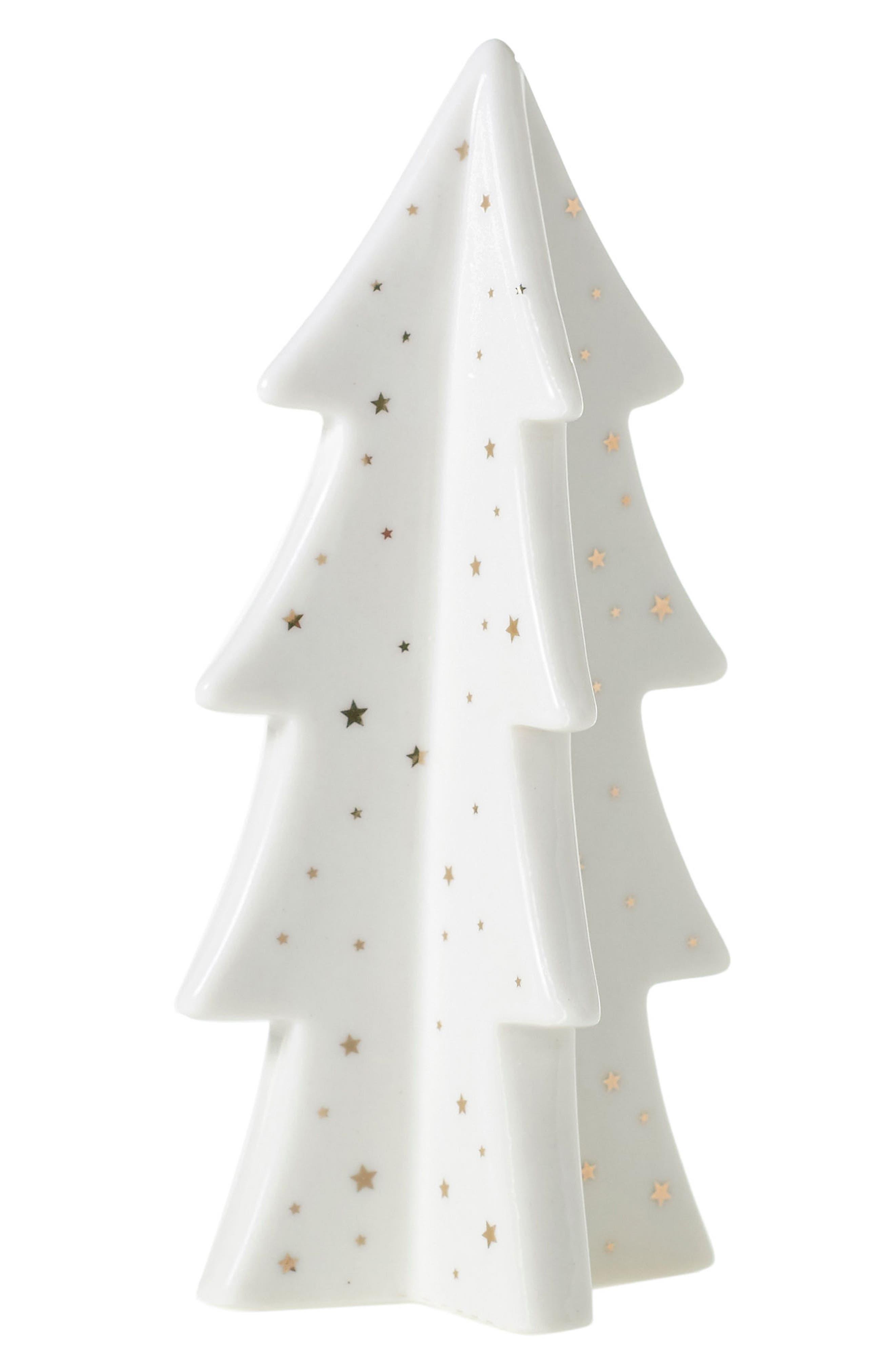 Aglow Porcelain Tree,                         Main,                         color, White