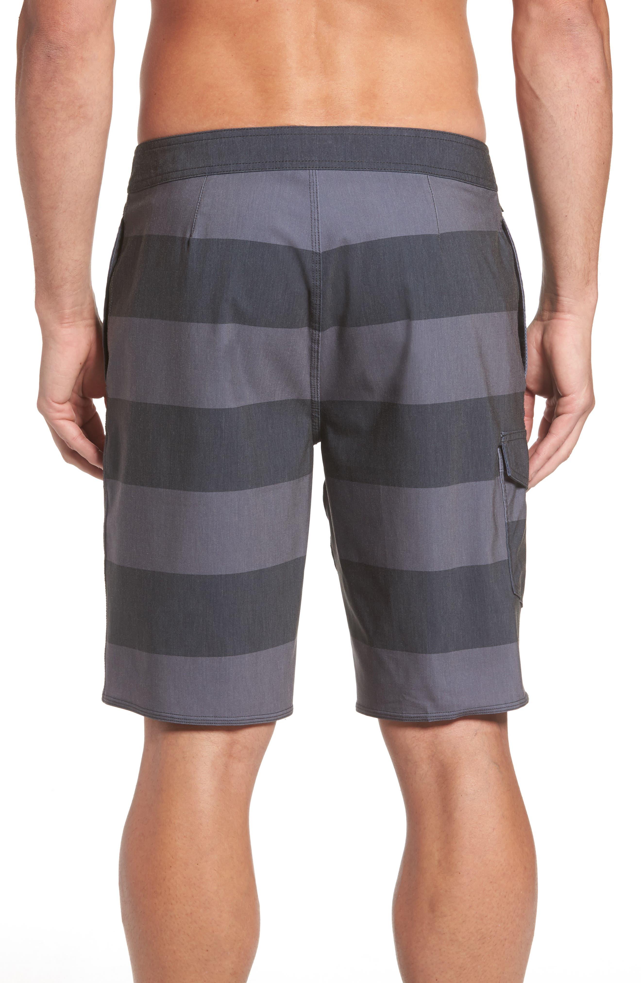 Homage Board Shorts,                             Alternate thumbnail 2, color,                             Black