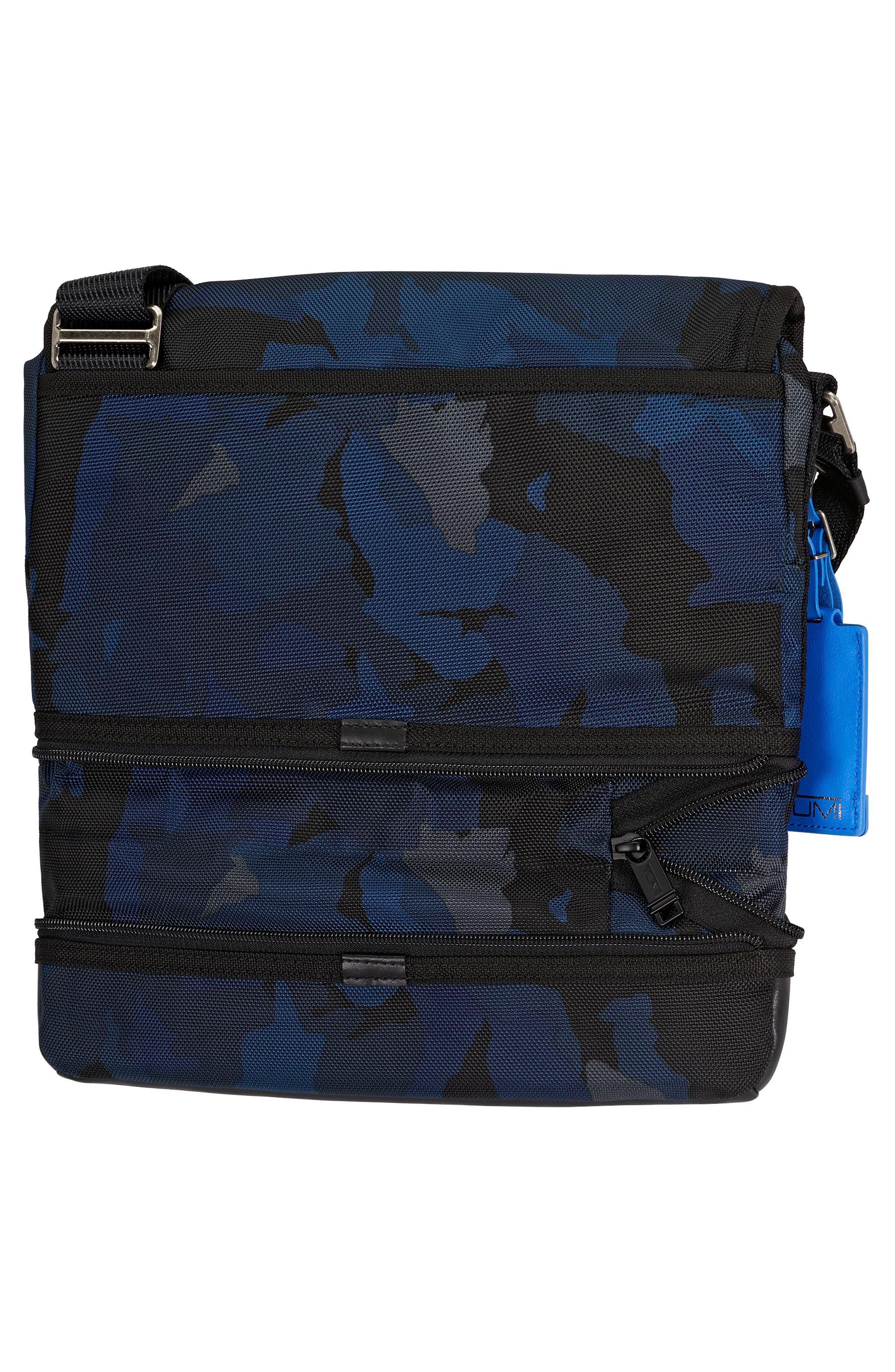 Alpha Bravo Beale Messenger Bag,                             Alternate thumbnail 3, color,                             Blue Camo
