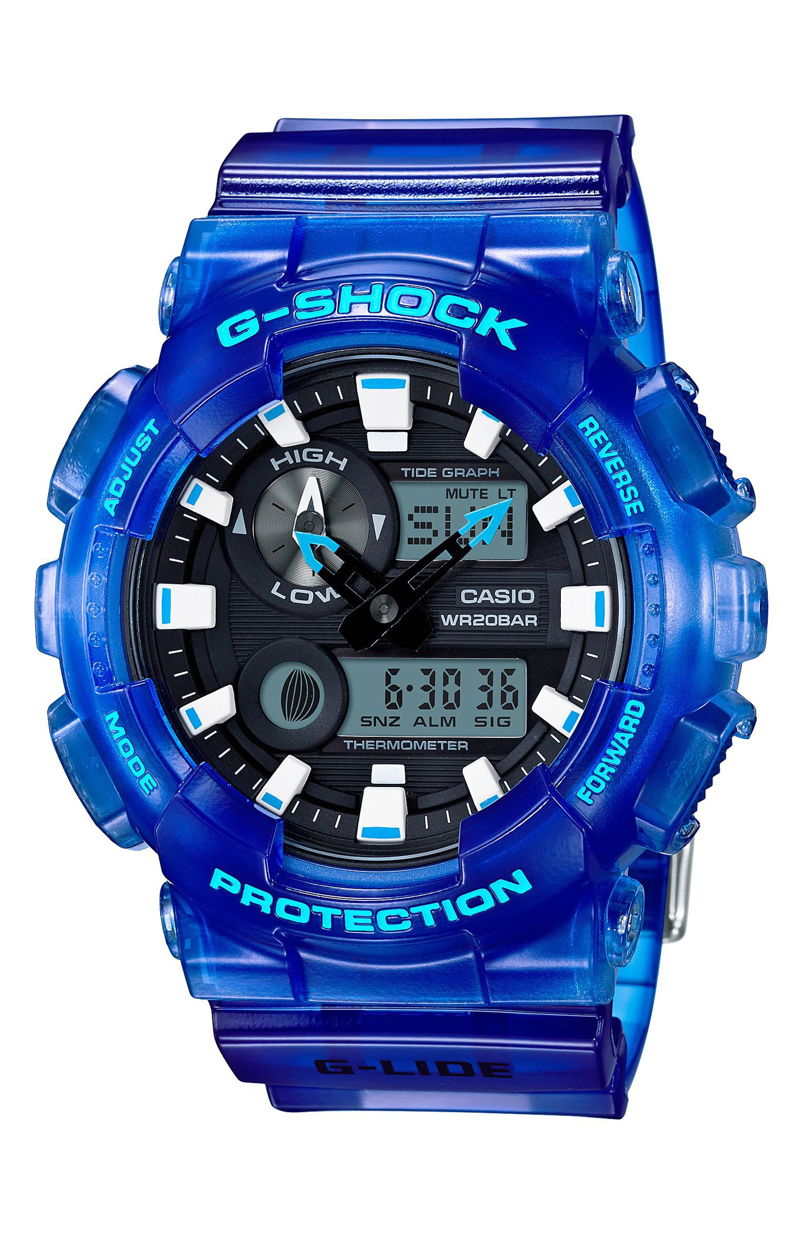 G-Shock Baby-G Ana-Digi Watch, 51mm