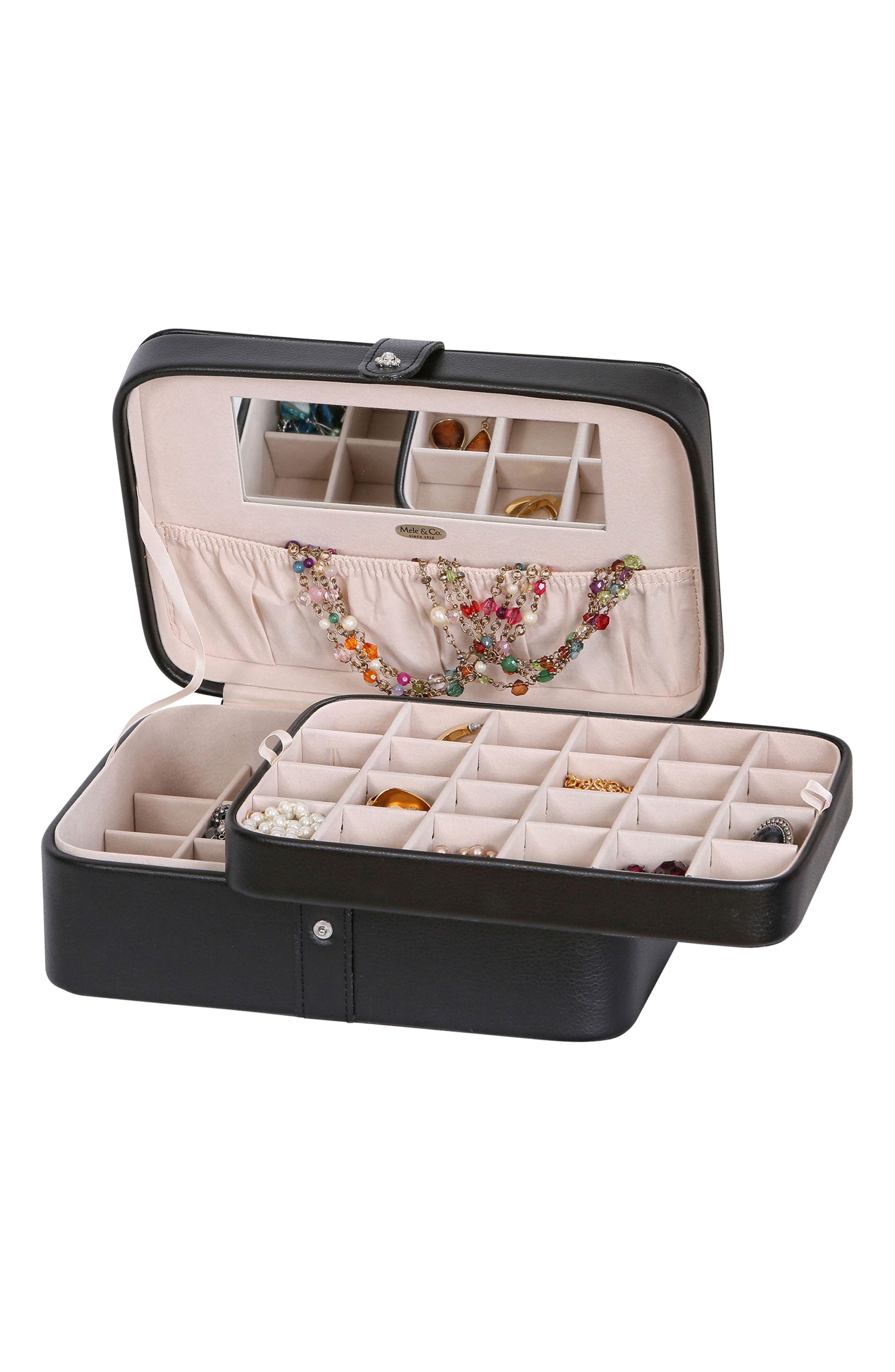 Alternate Image 3  - Mele & Co. Lila Jewelry Box