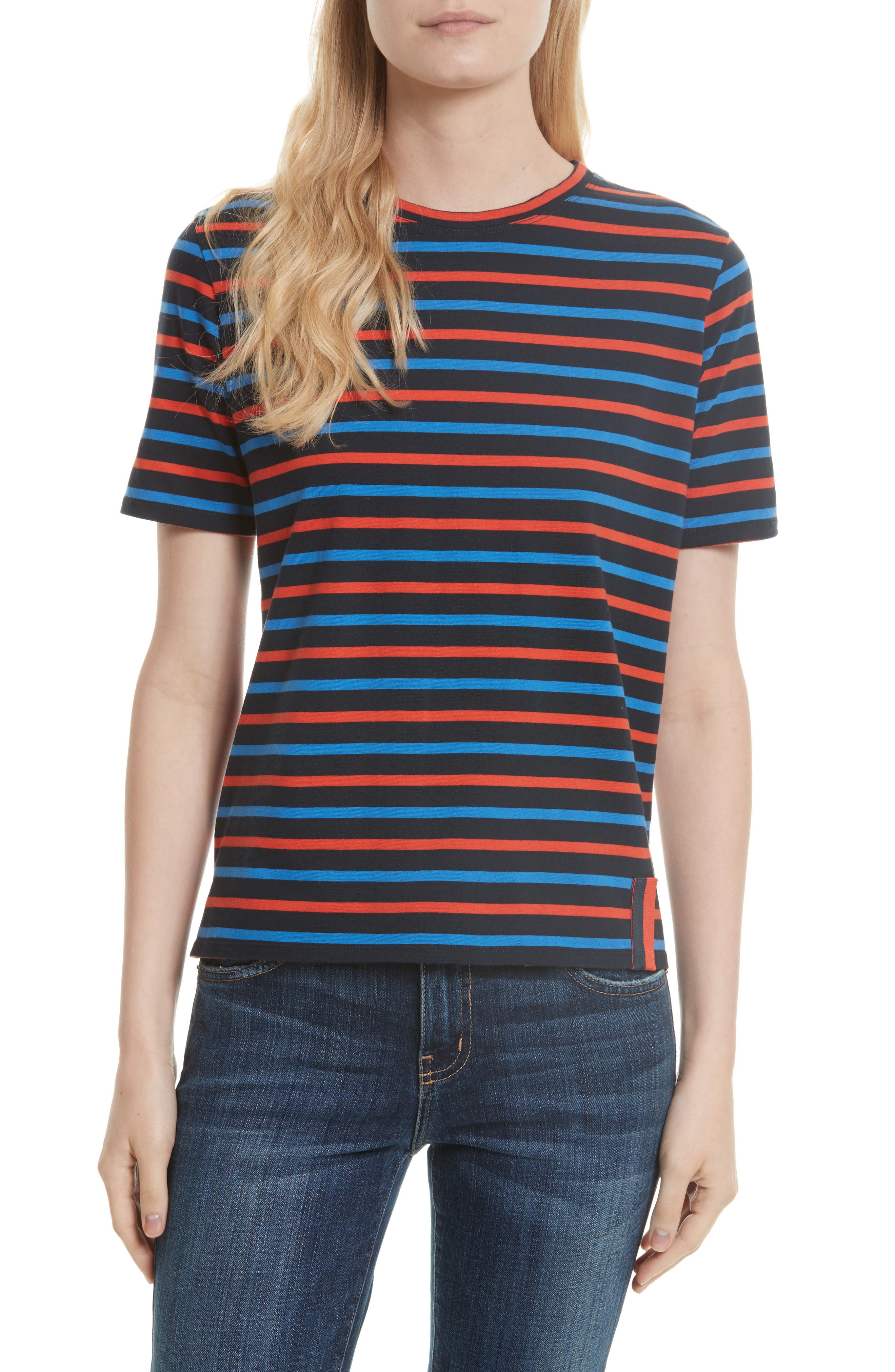 Alternate Image 1 Selected - Kule The Modern Stripe Cotton Tee