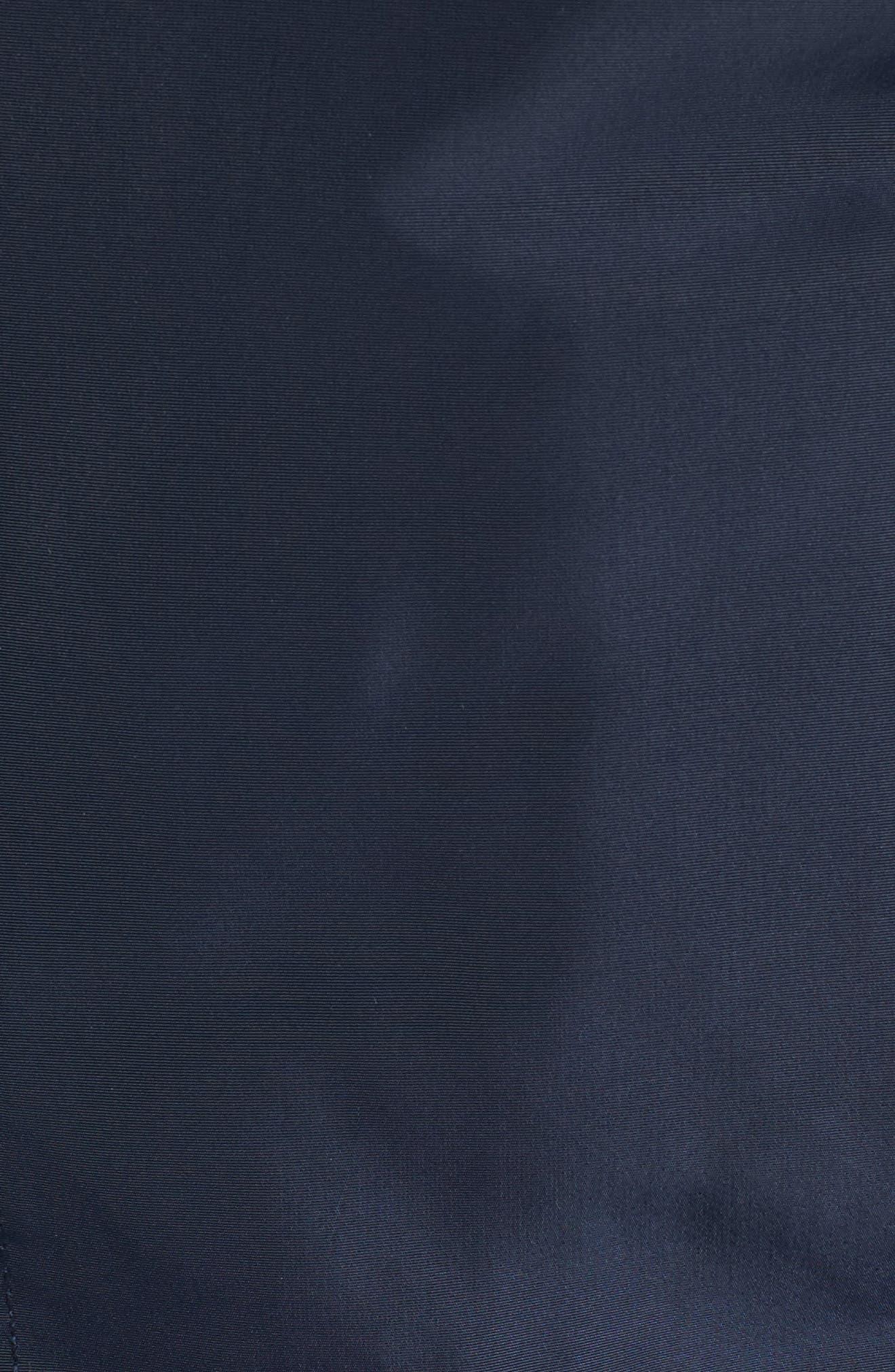 Hooded Windbreaker Jacket,                             Alternate thumbnail 5, color,                             Navy