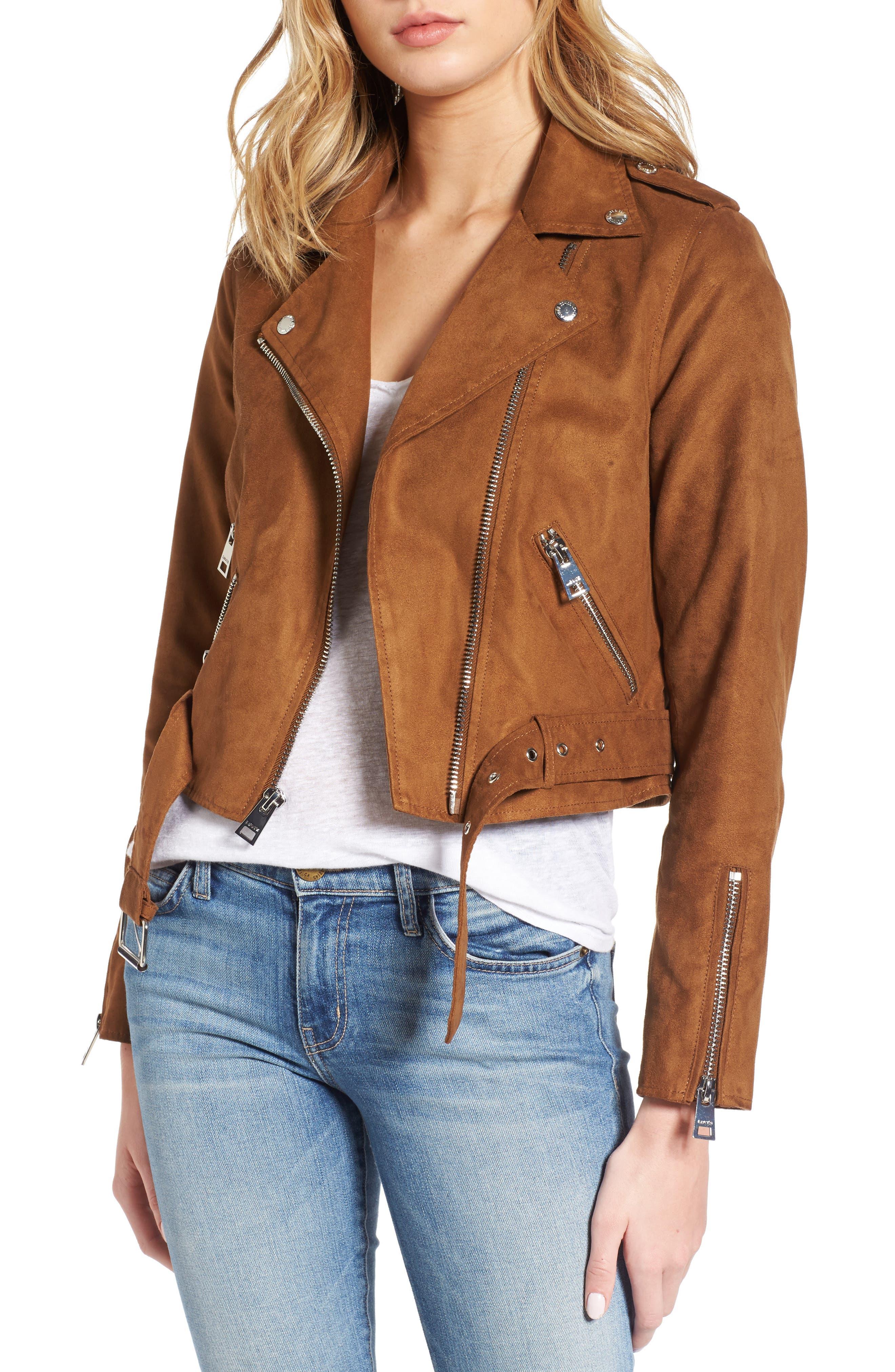 LEVIS® Faux Suede Moto Jacket