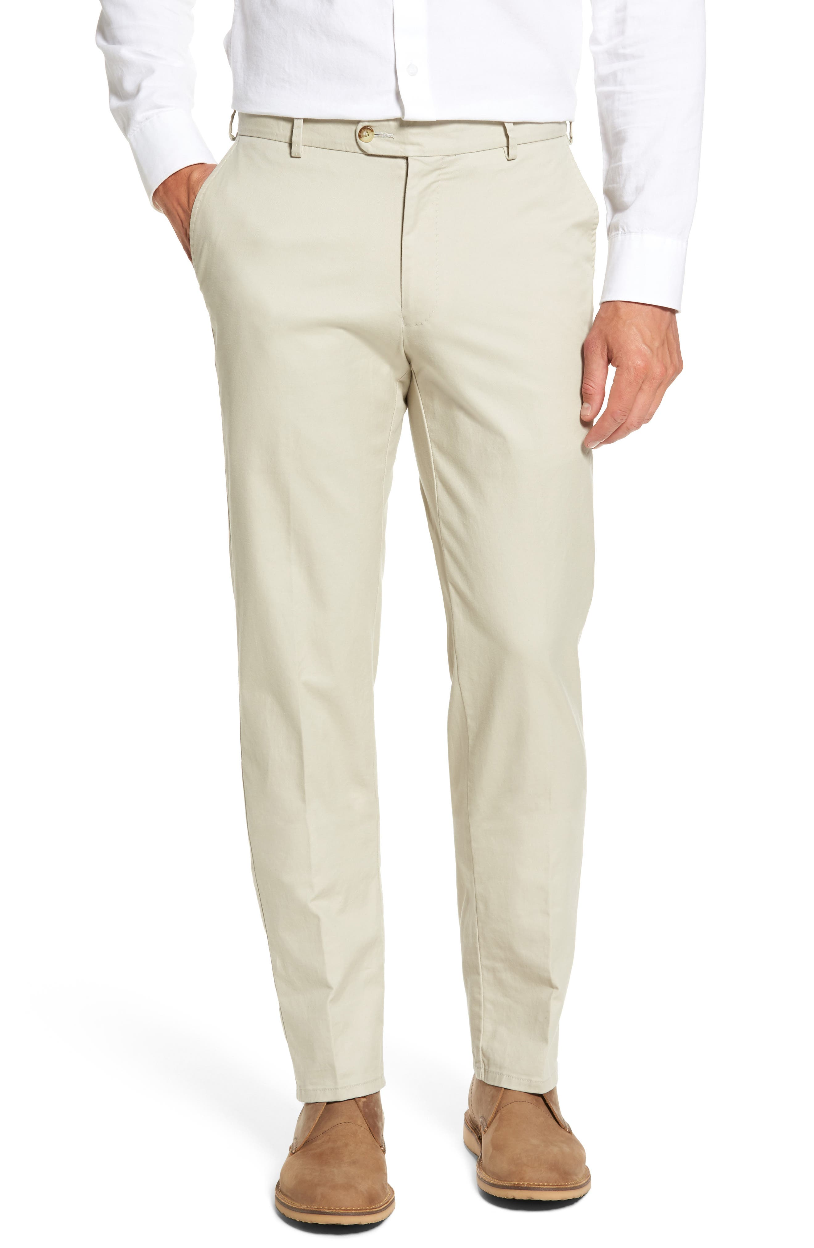 Twill Pants,                         Main,                         color, Light Sand