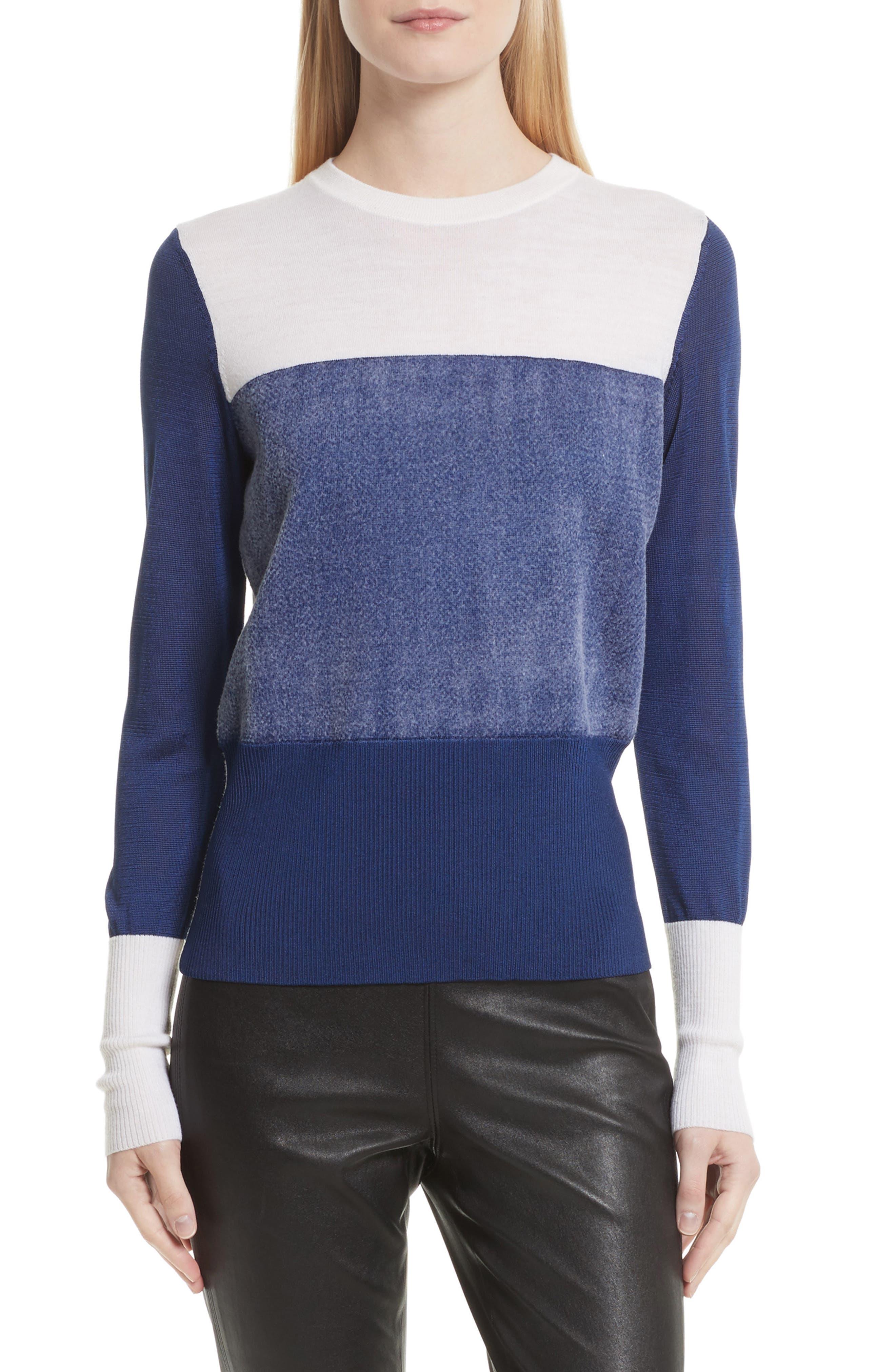Main Image - rag & bone Marissa Colorblock Sweater
