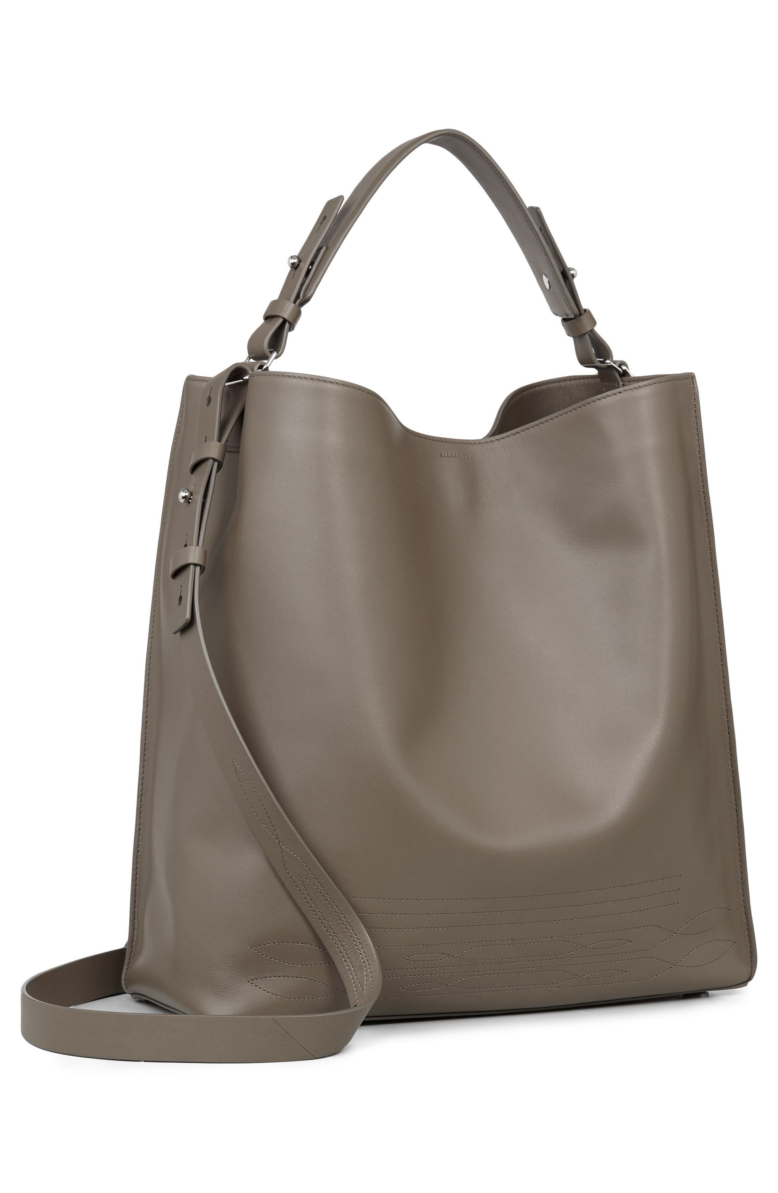 Alternate Image 5  - ALLSAINTS Cooper East/West Calfskin Leather Tote