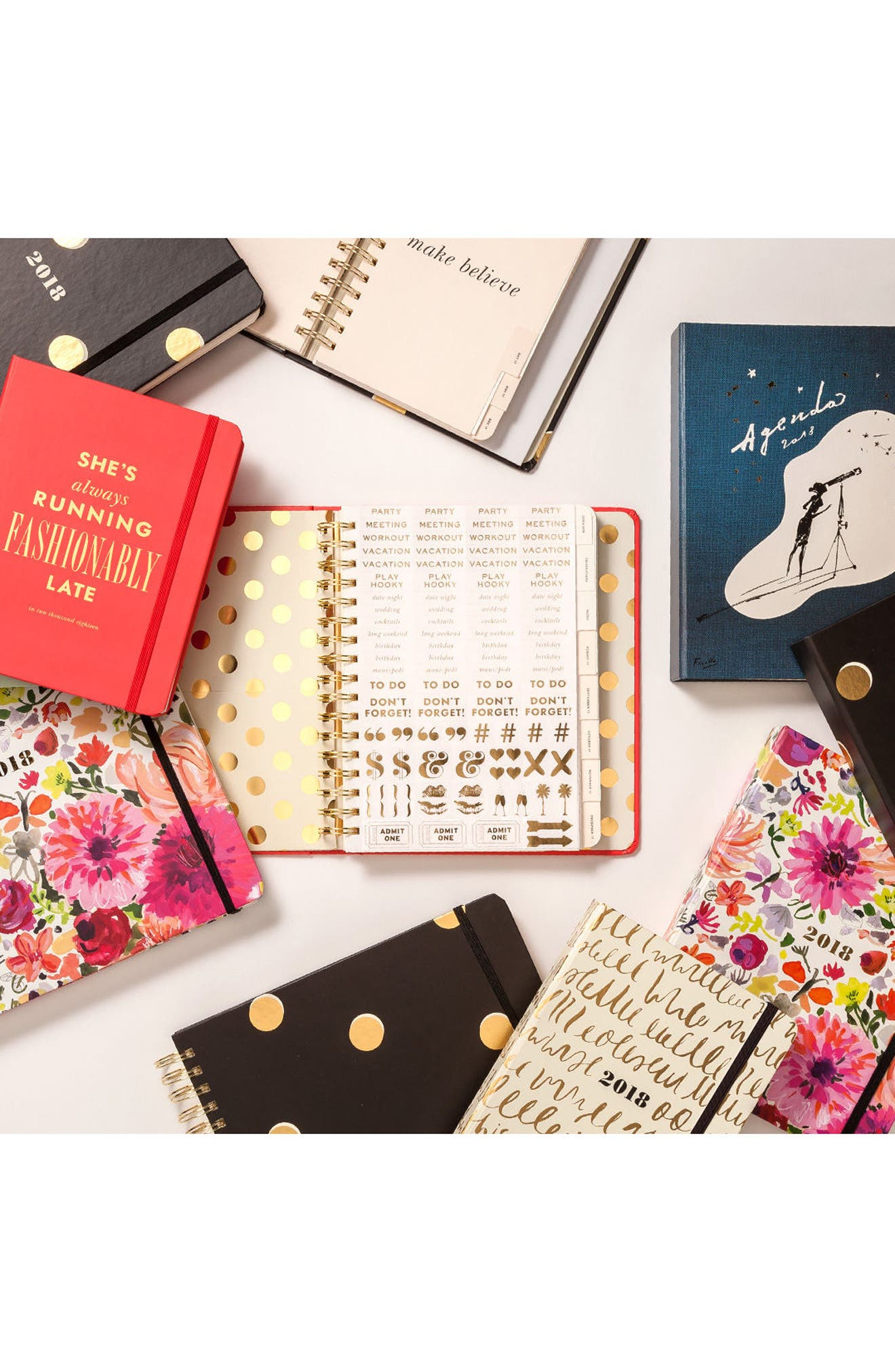 Alternate Image 3  - kate spade new york large 17-month agenda