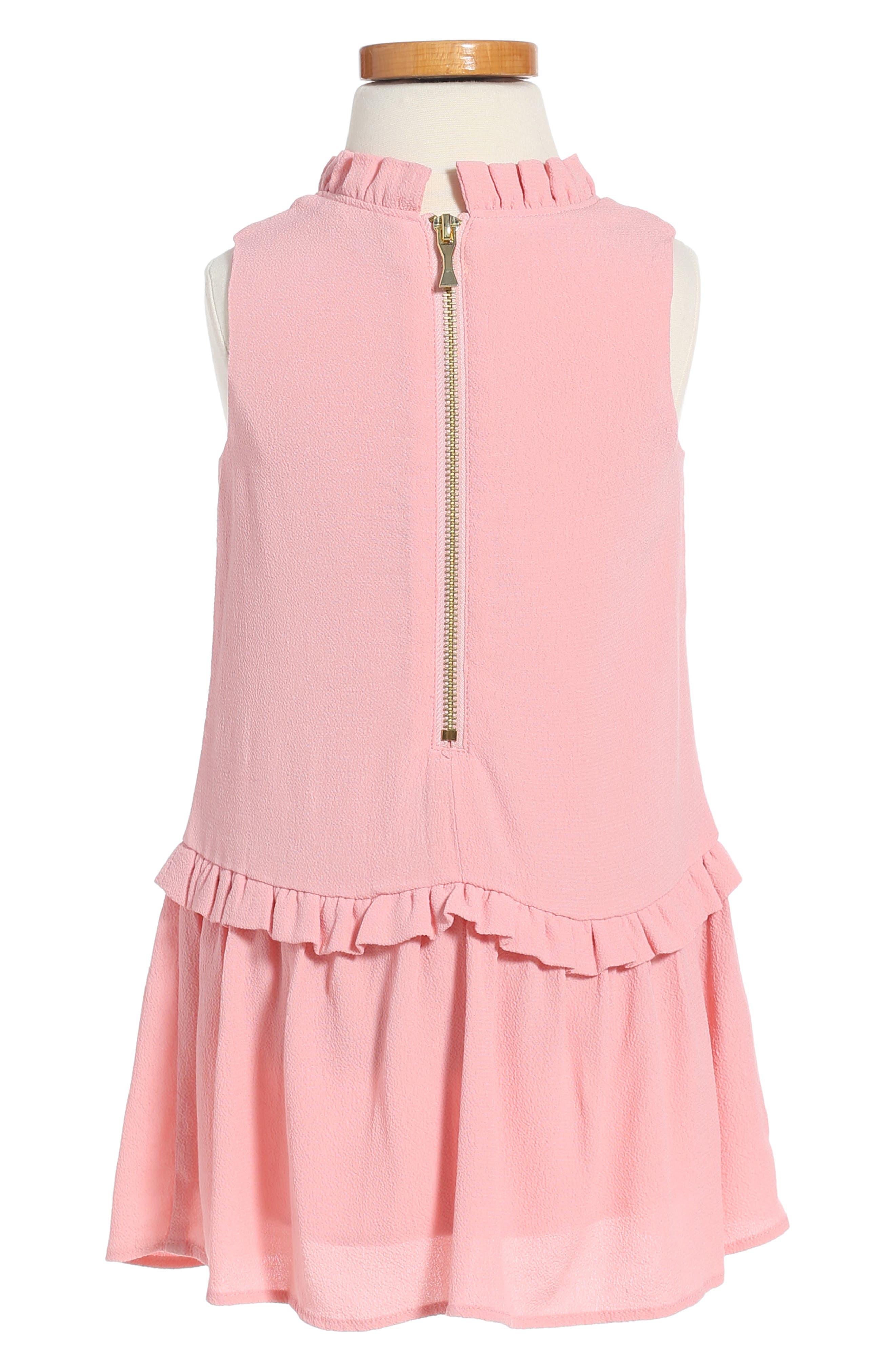 Alternate Image 2  - kate spade new york ruffle collar dress (Toddler Girls & Little Girls)