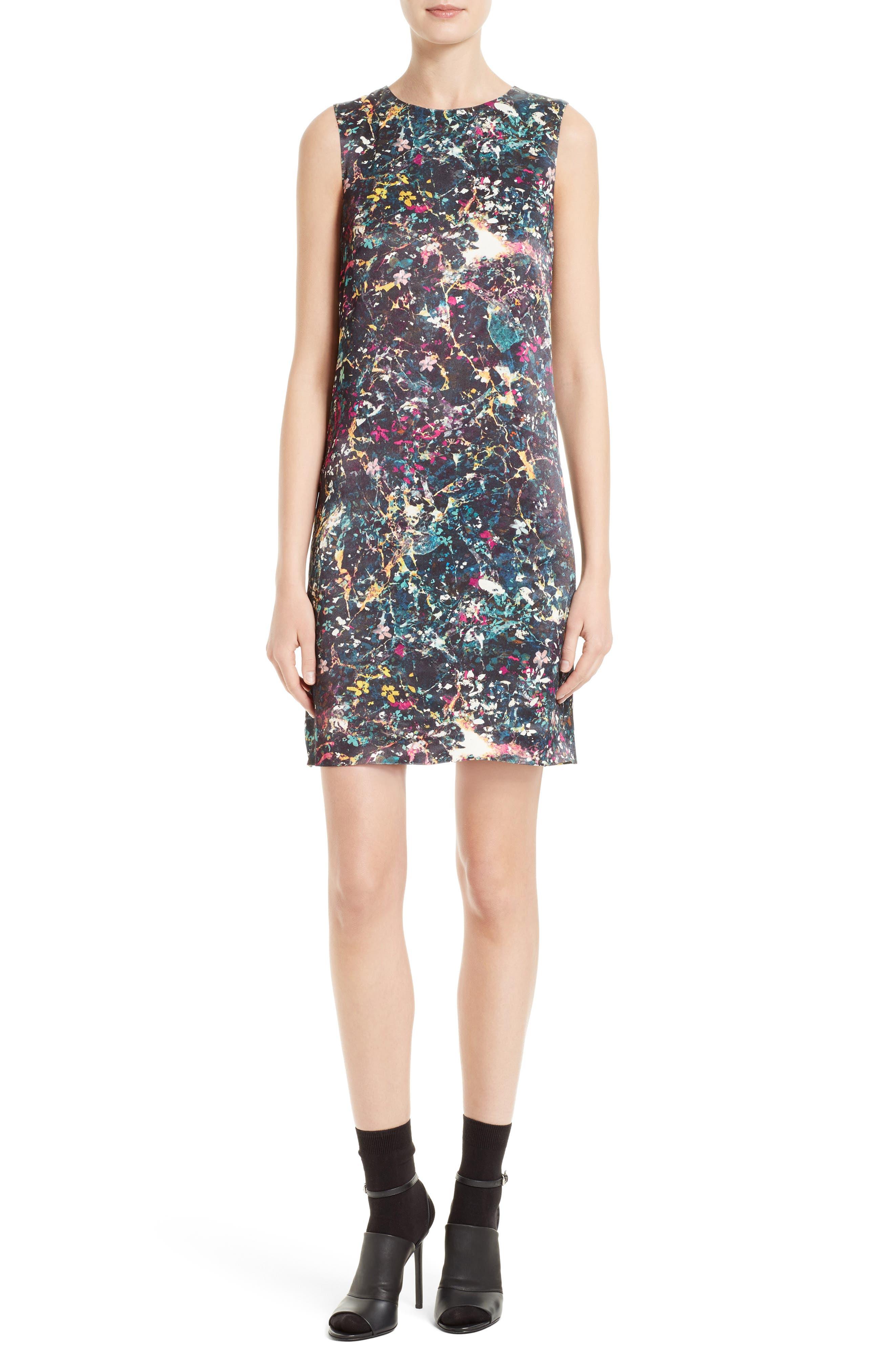 M Missoni Floral Print Sheath Dress