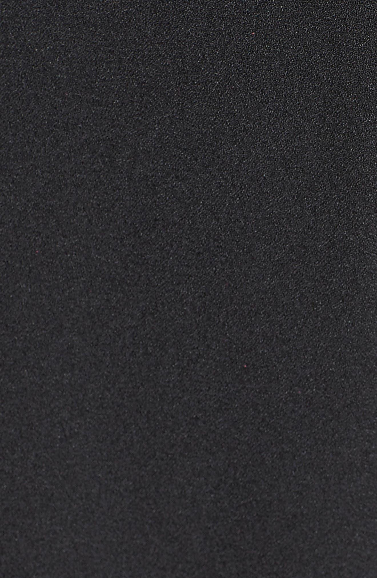 Lace Bodice Jumpsuit,                             Alternate thumbnail 5, color,                             Black