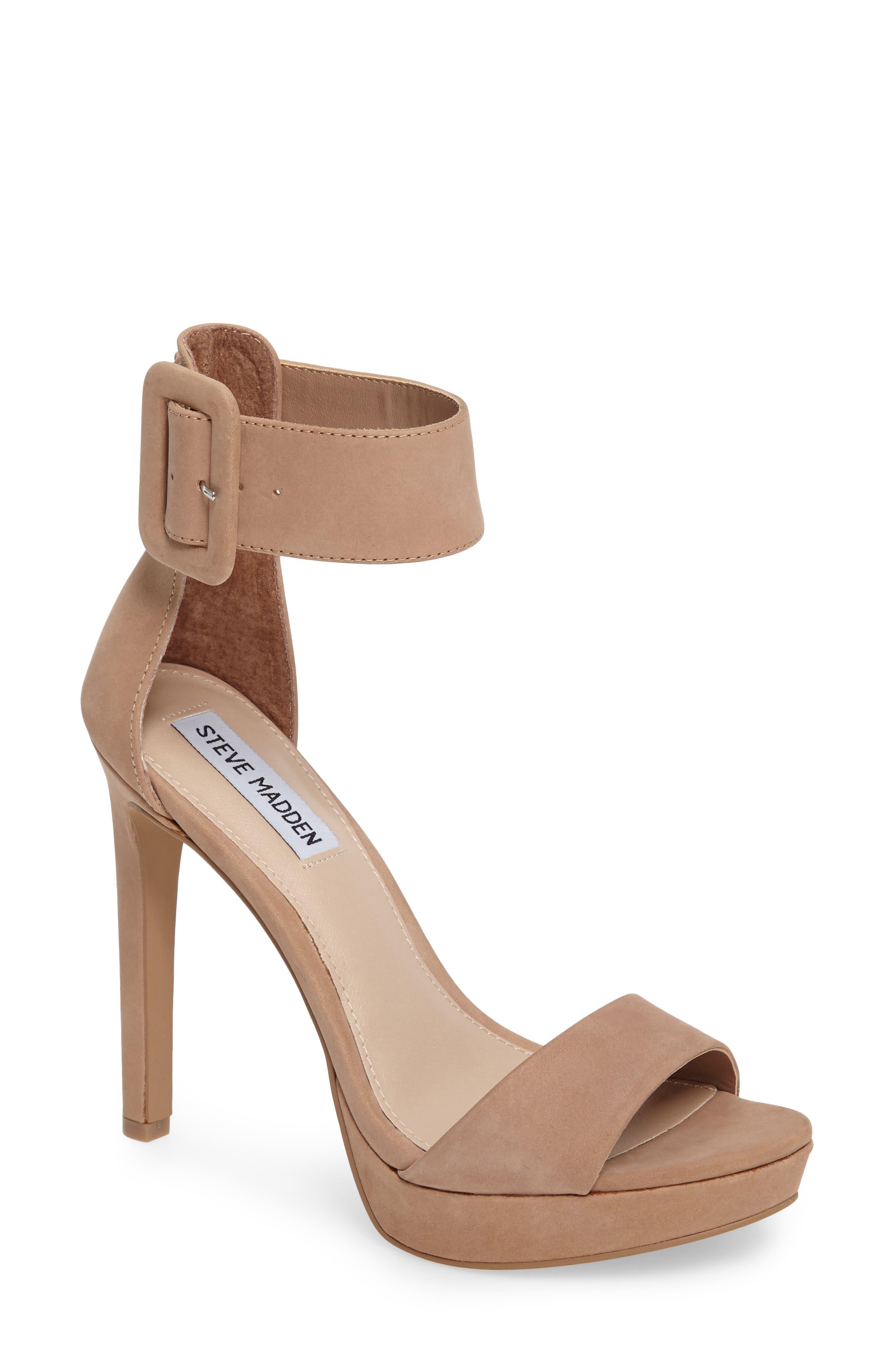 Circuit Sandal,                         Main,                         color, Tan Nubuck Leather