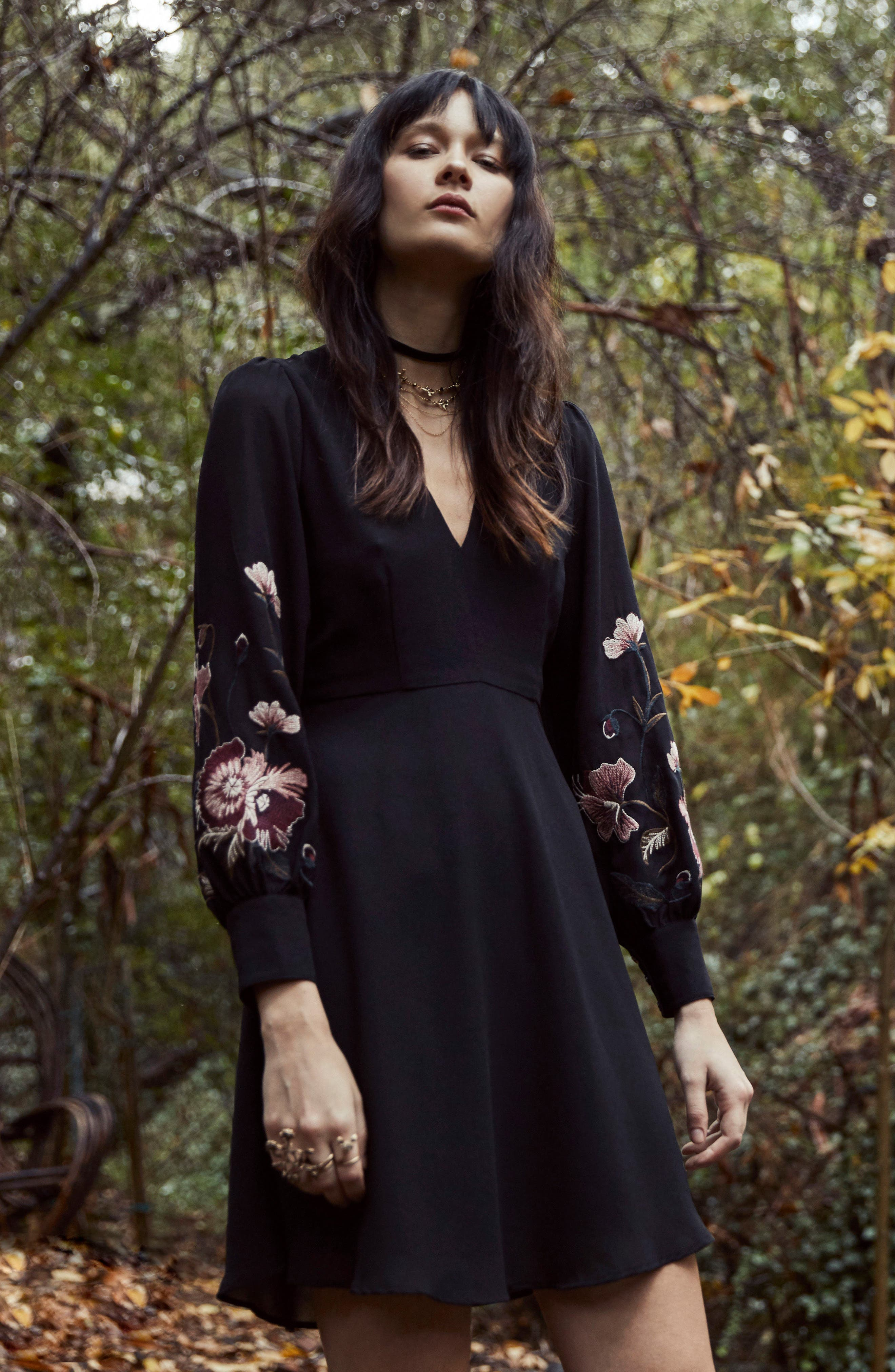 Alternate Image 3  - ASTR the Label Holly Fit & Flare Dress