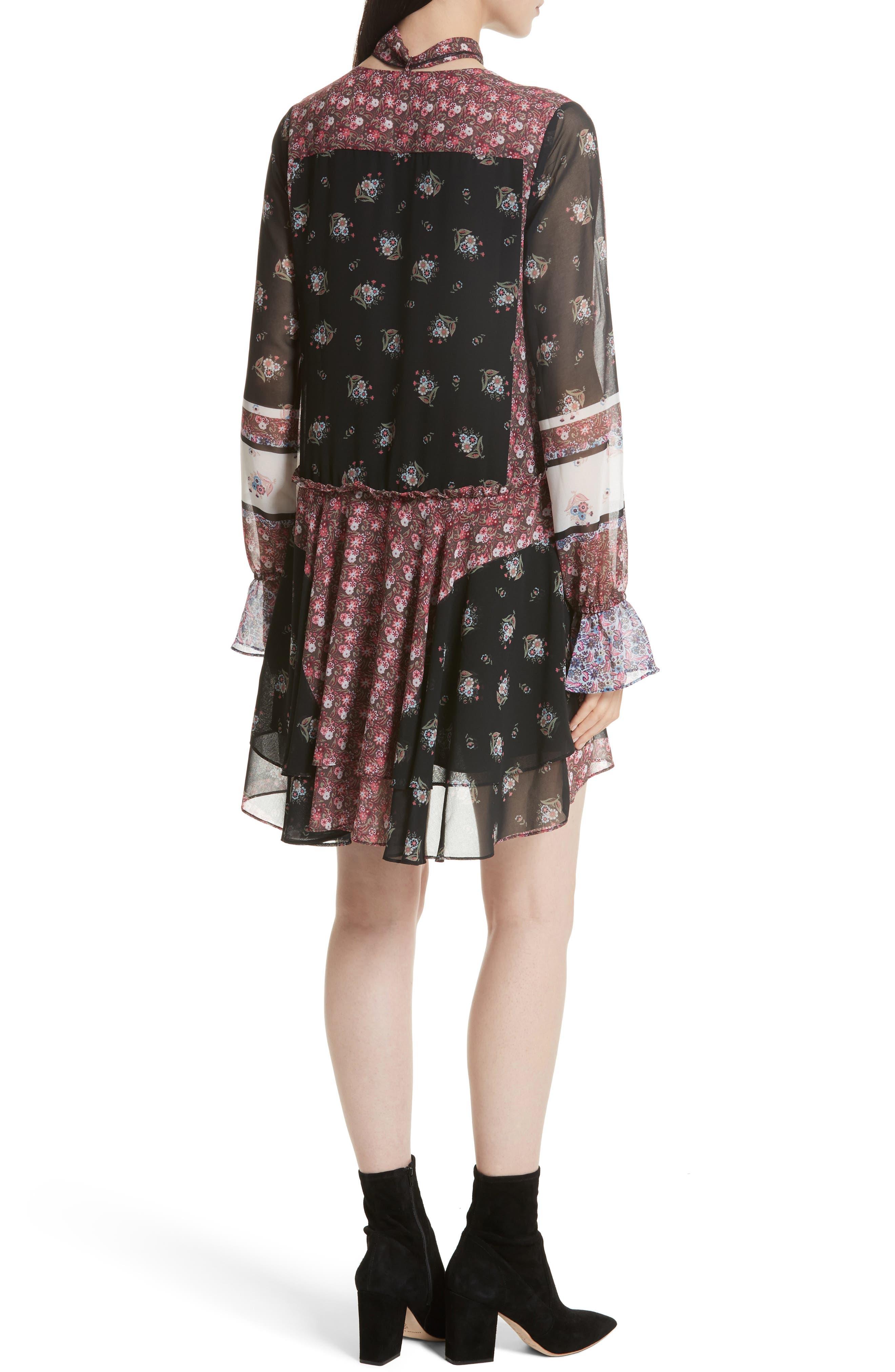 Alternate Image 2  - Rebecca Minkoff Fiona Print Shift Dress