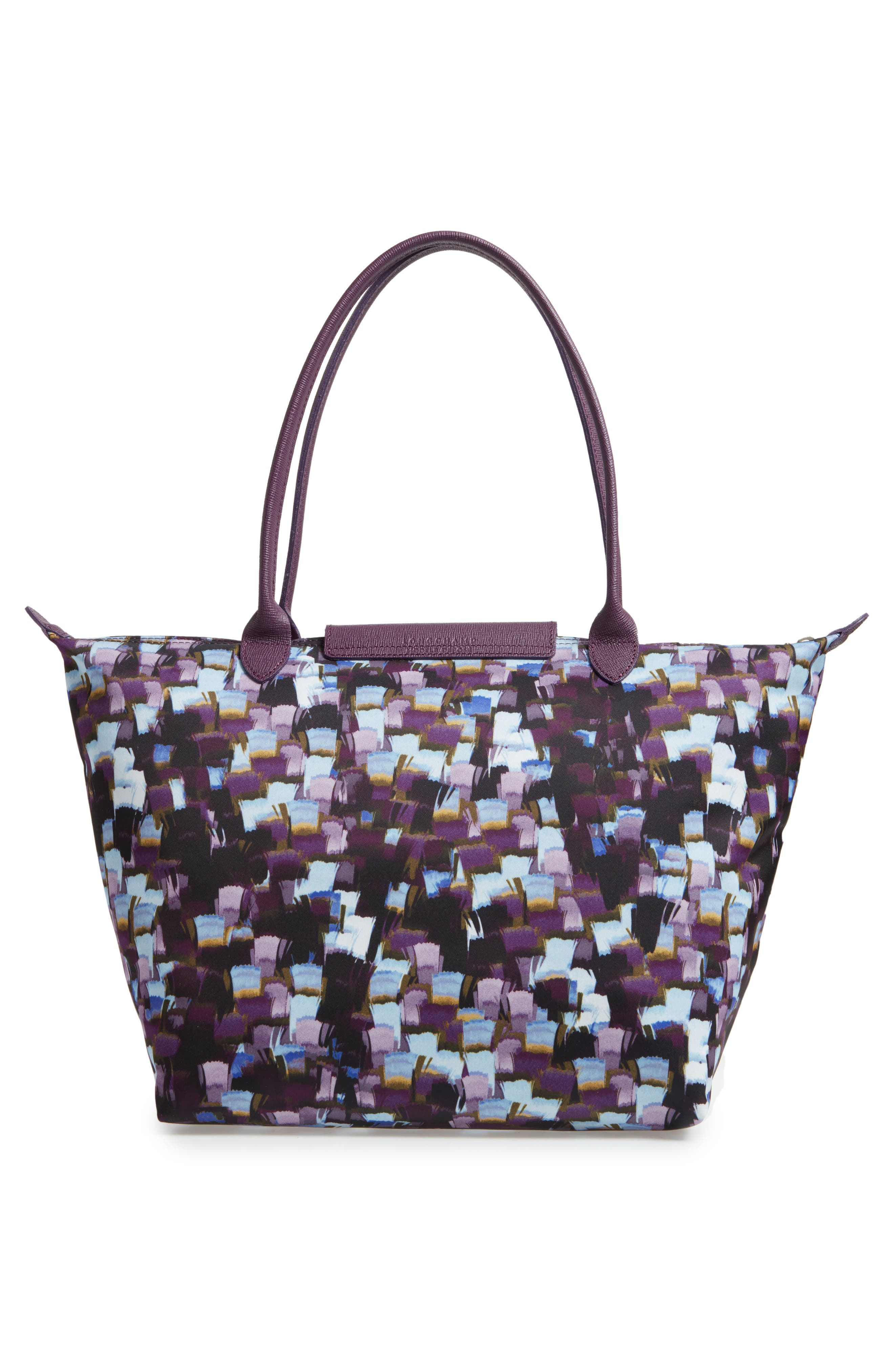 Le Pliage Neo - Vibrations Large Nylon Tote,                             Alternate thumbnail 2, color,                             Deep Purple