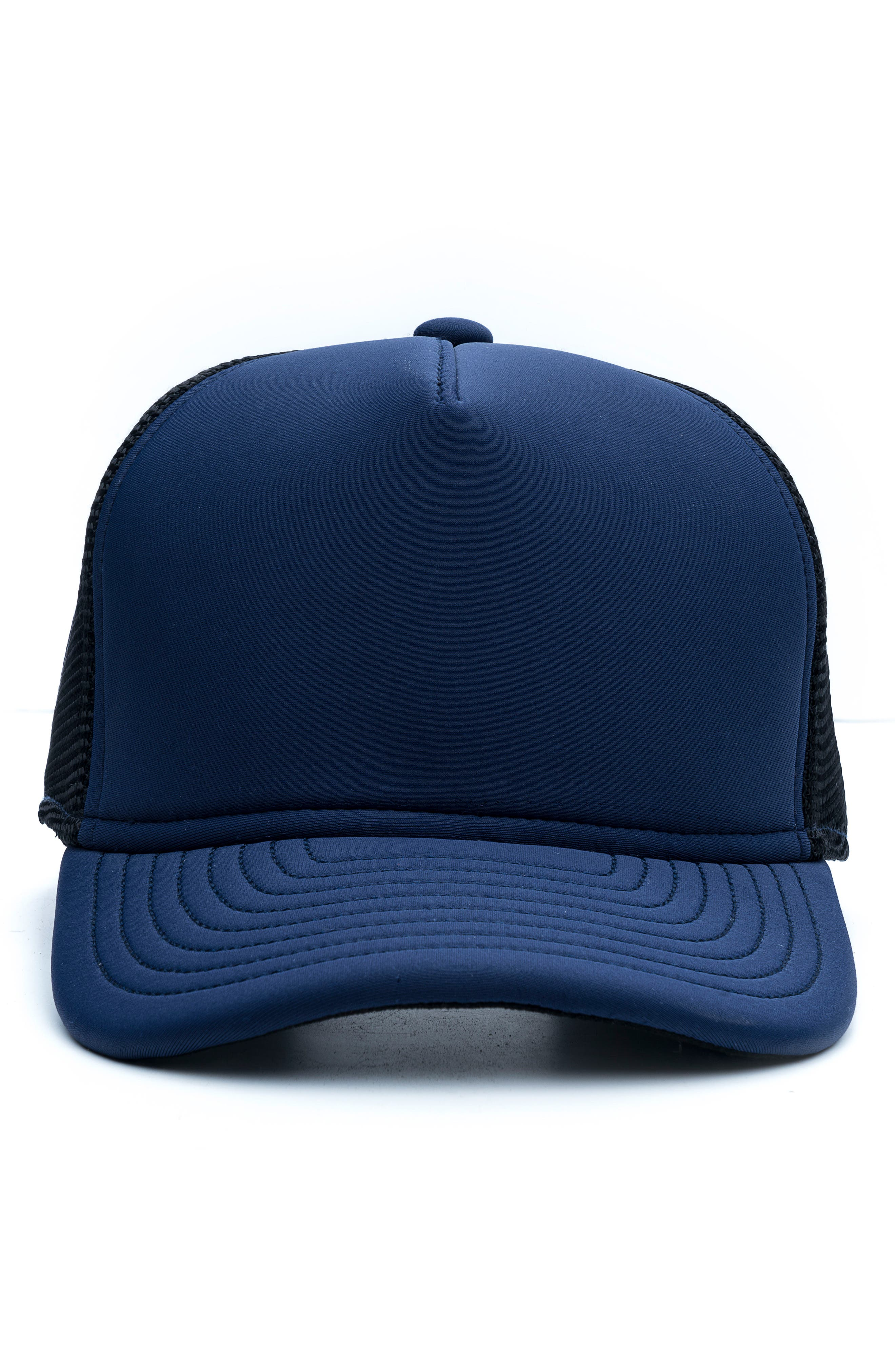 The Marksman Mesh Cap,                             Alternate thumbnail 6, color,                             Navy