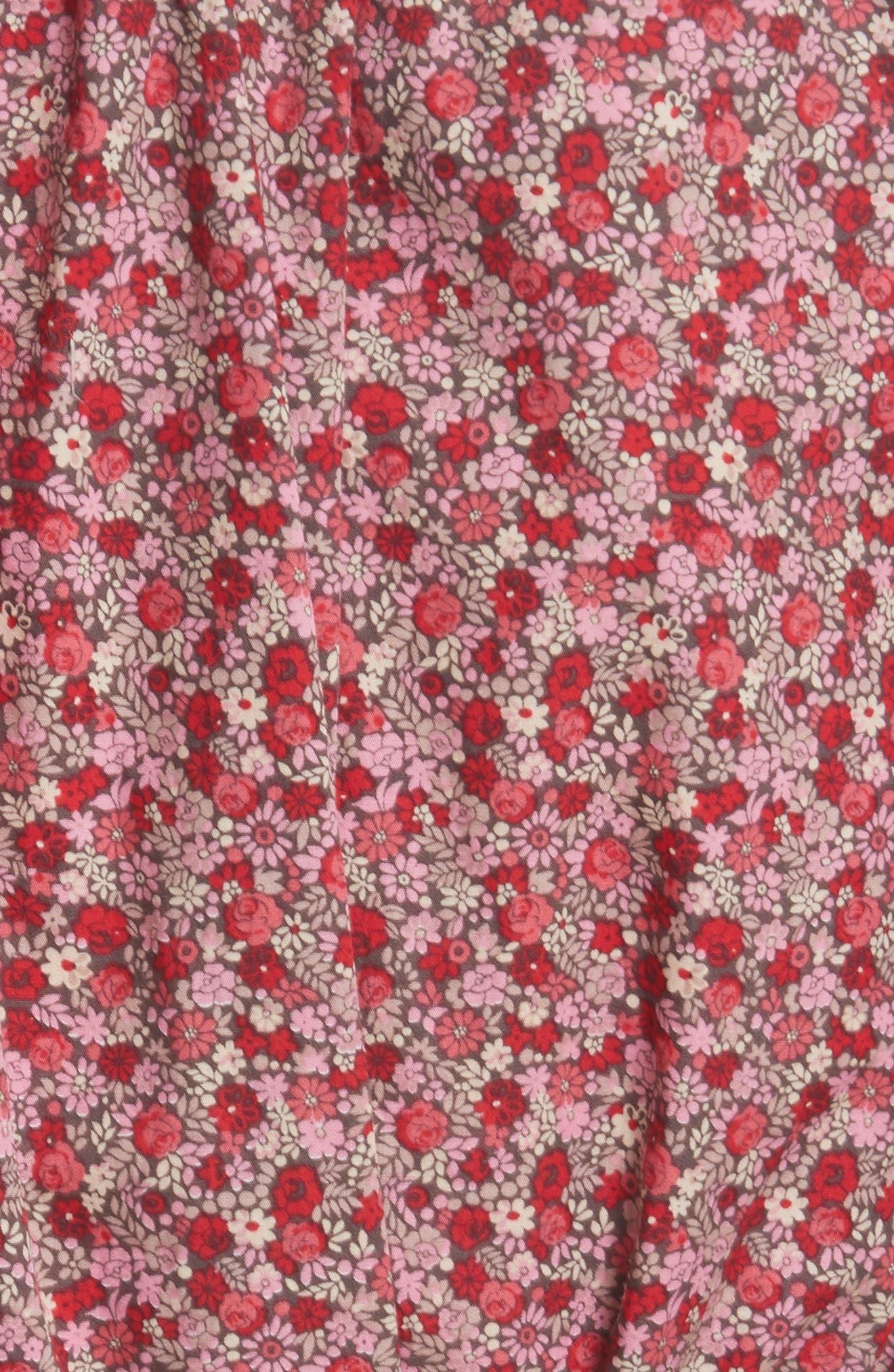 Alternate Image 5  - La Vie Rebecca Taylor Petite Rose Cold Shoulder Top