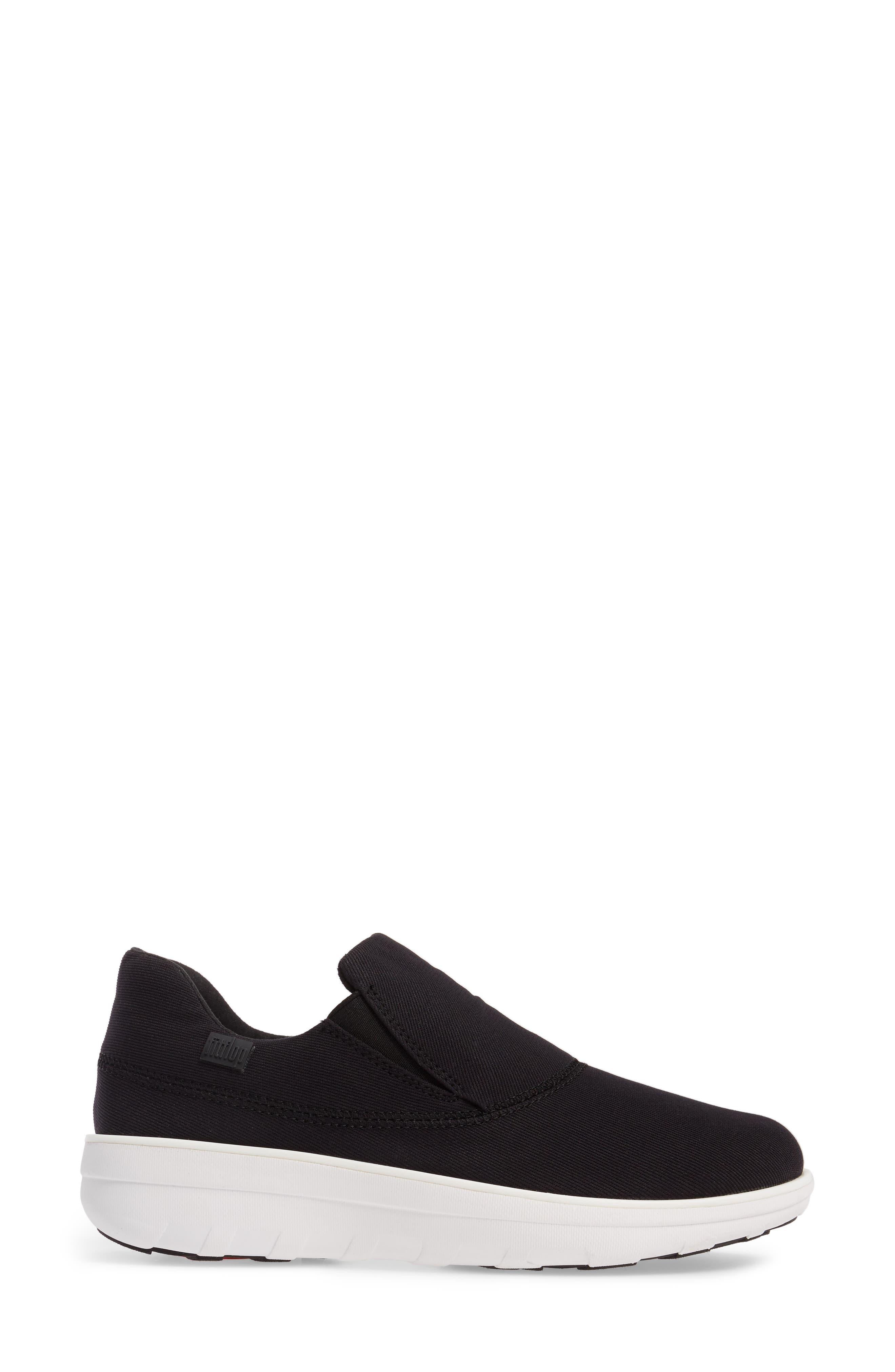 Alternate Image 3  - FitFlop Loaff Platform Slip-On Sneaker (Women)