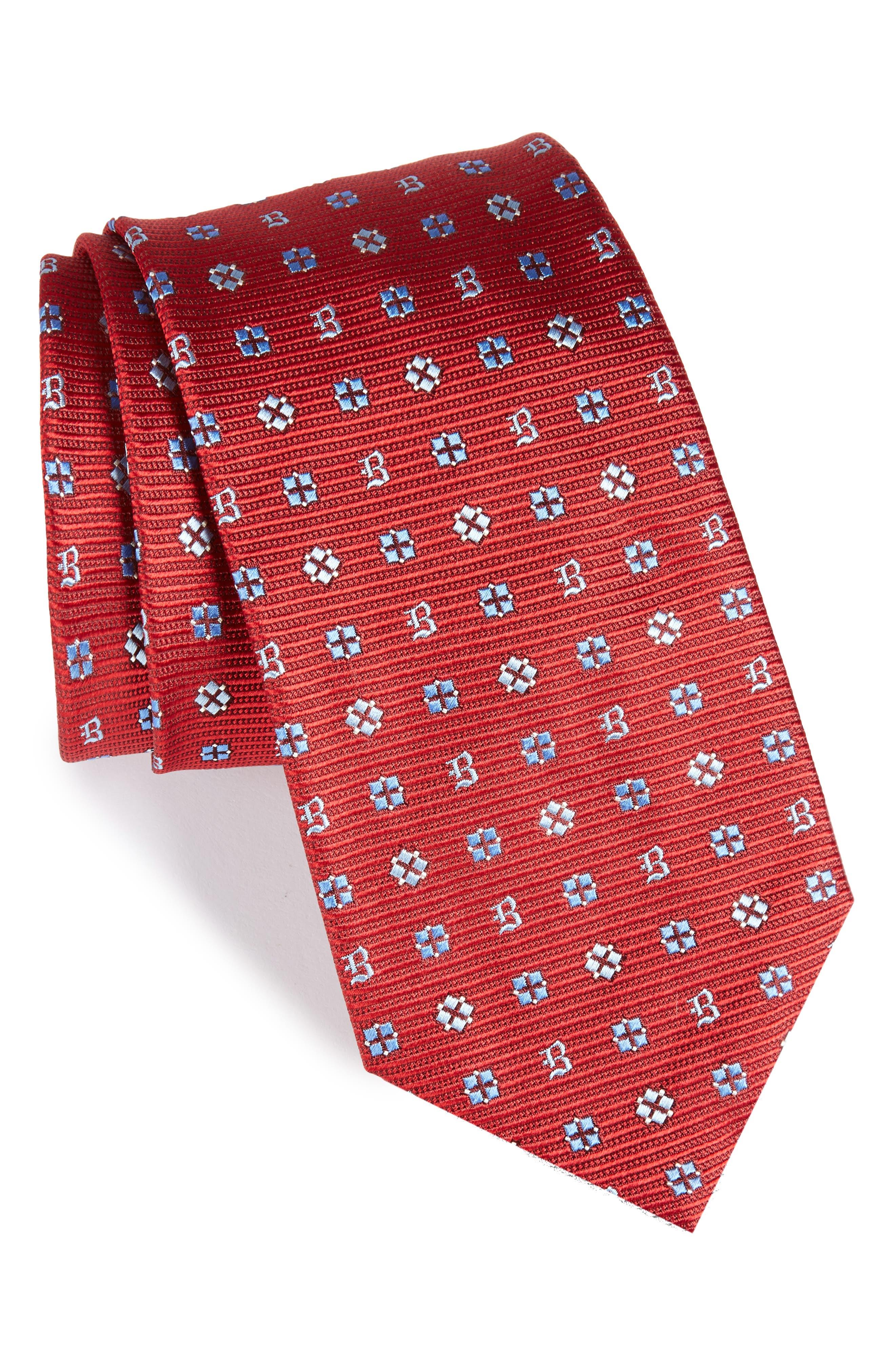 Alternate Image 1 Selected - Brioni Medallion Silk Tie