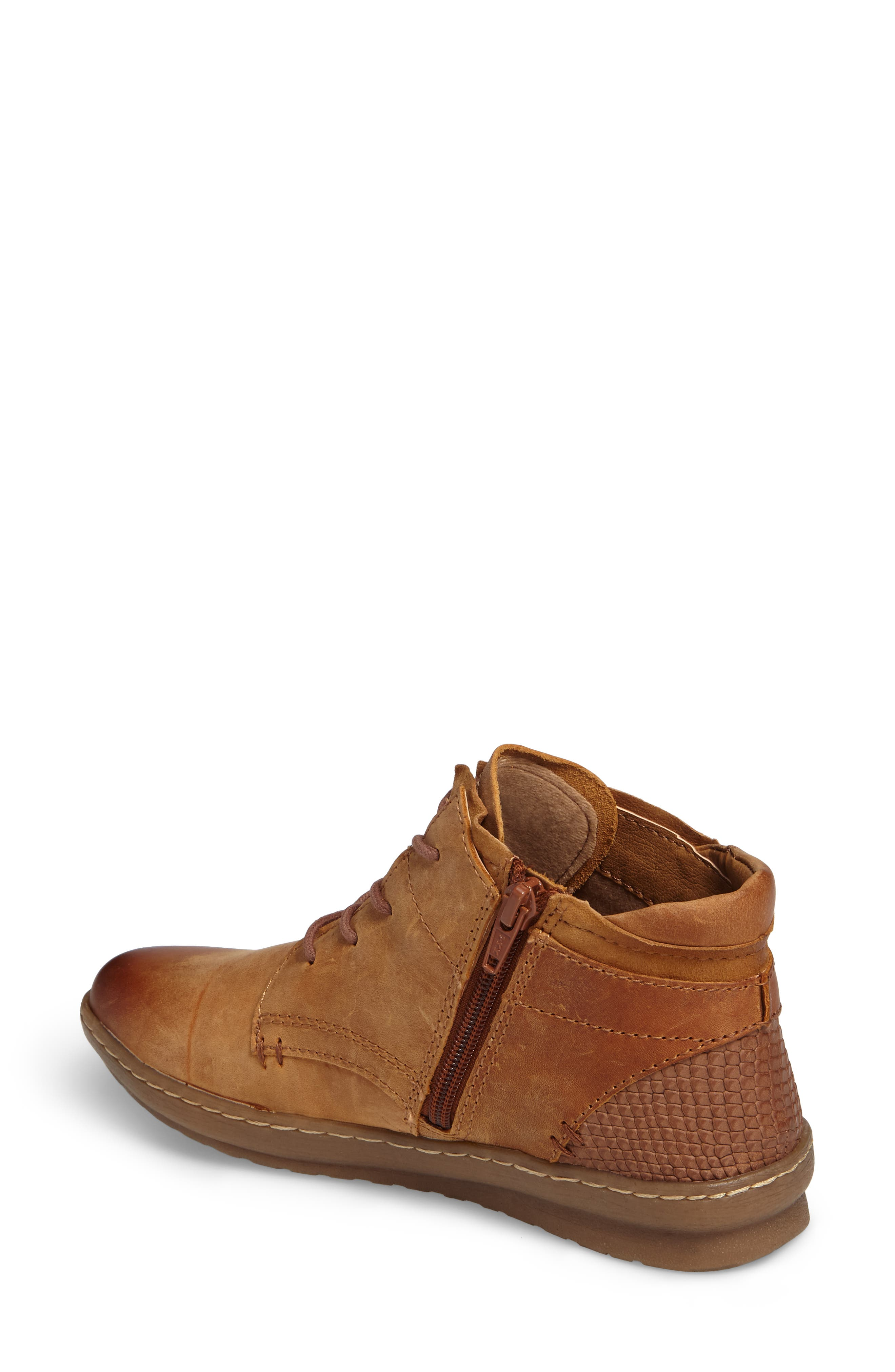 Cascade Boot,                             Alternate thumbnail 2, color,                             Almond Tan Leather