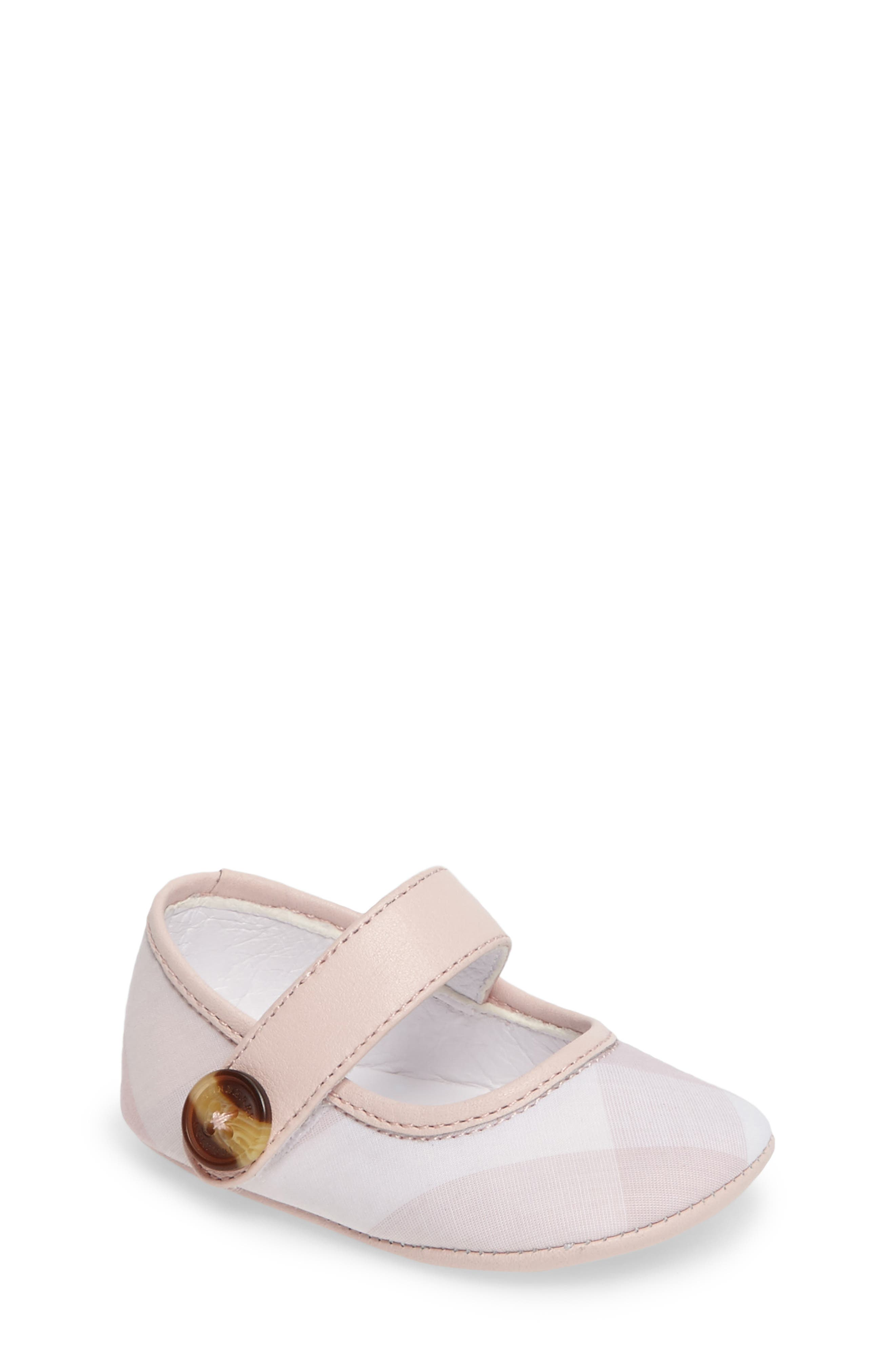 Burberry 'Baldwyn' Mary Jane (Baby)