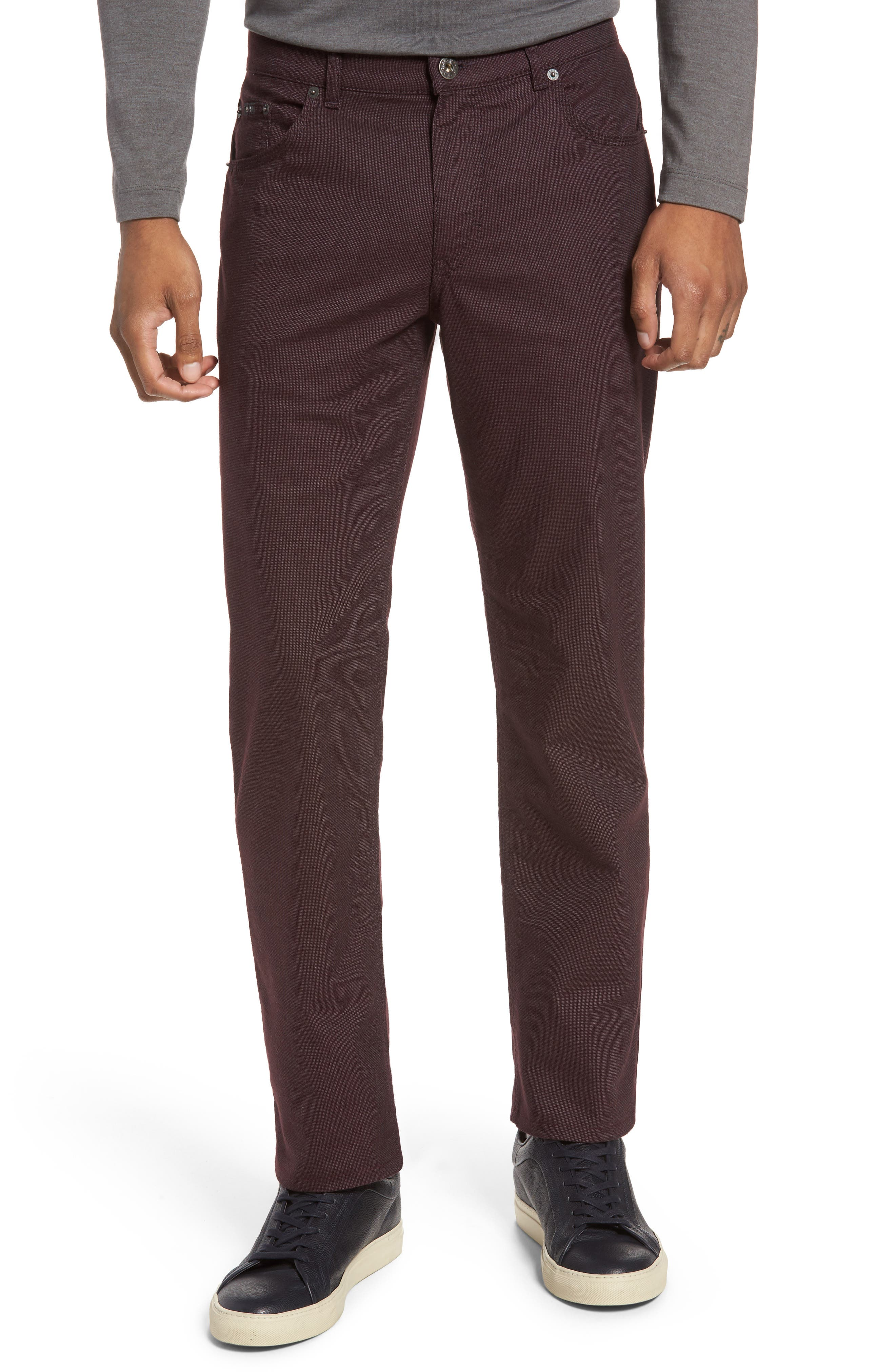 Brax Five-Pocket Stretch Cotton Trousers