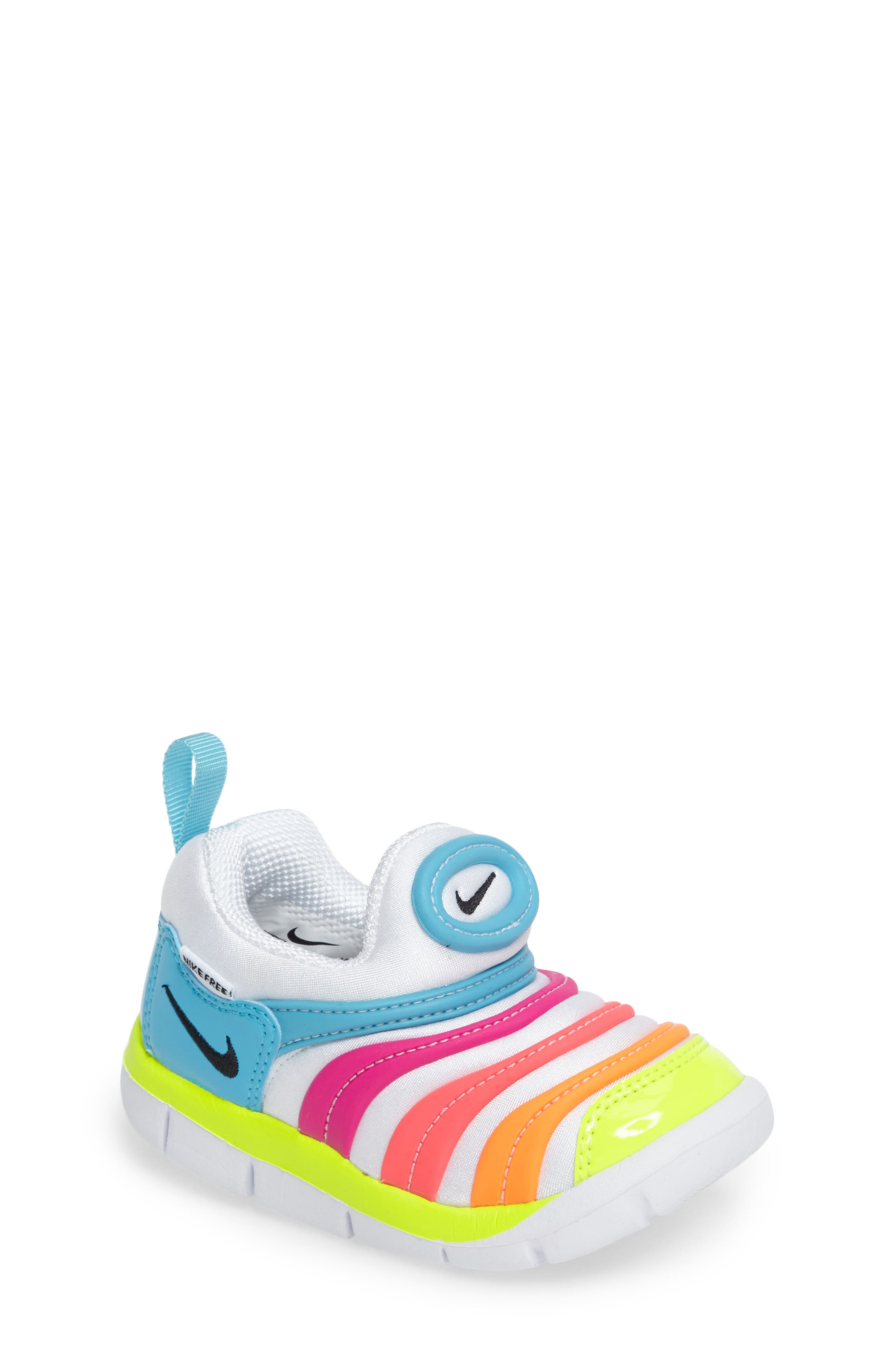 Alternate Image 1 Selected - Nike Dynamo Free Sneaker (Baby, Walker, & Toddler)