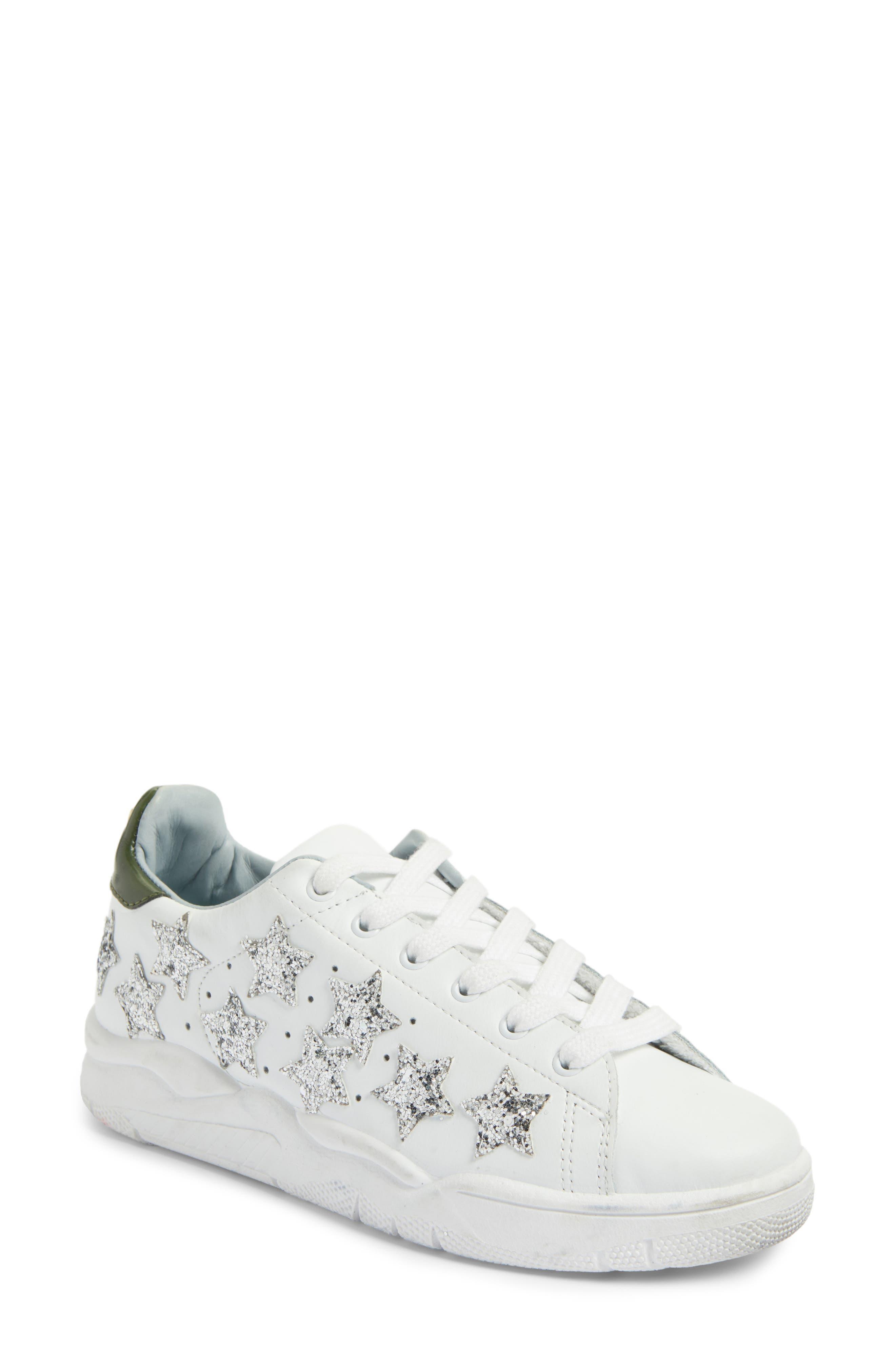 Alternate Image 1 Selected - Chiara Ferragni Stars Roger Glitter Sneaker (Women)