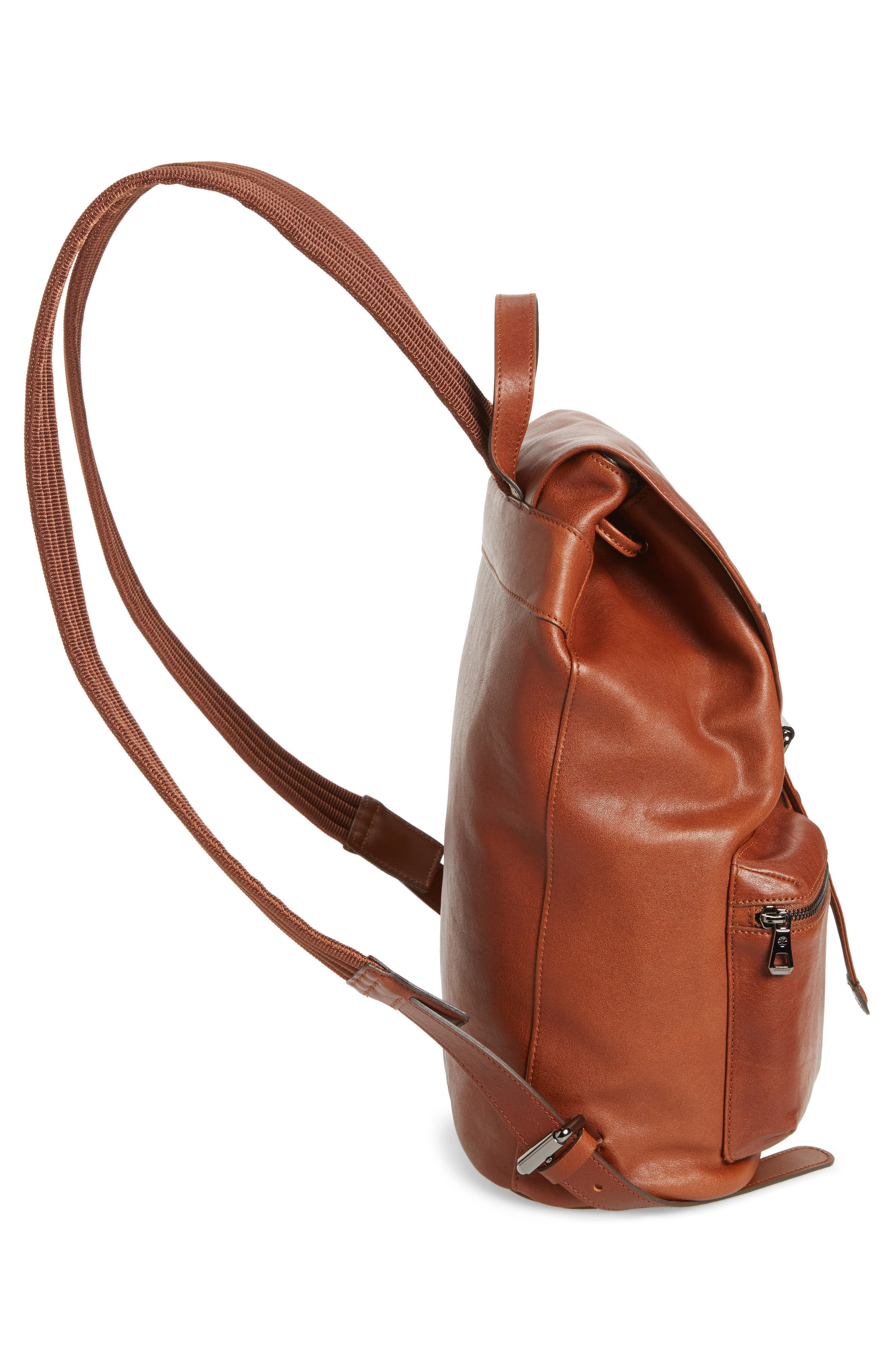 Alternate Image 4  - Longchamp Medium 3D Leather Backpack