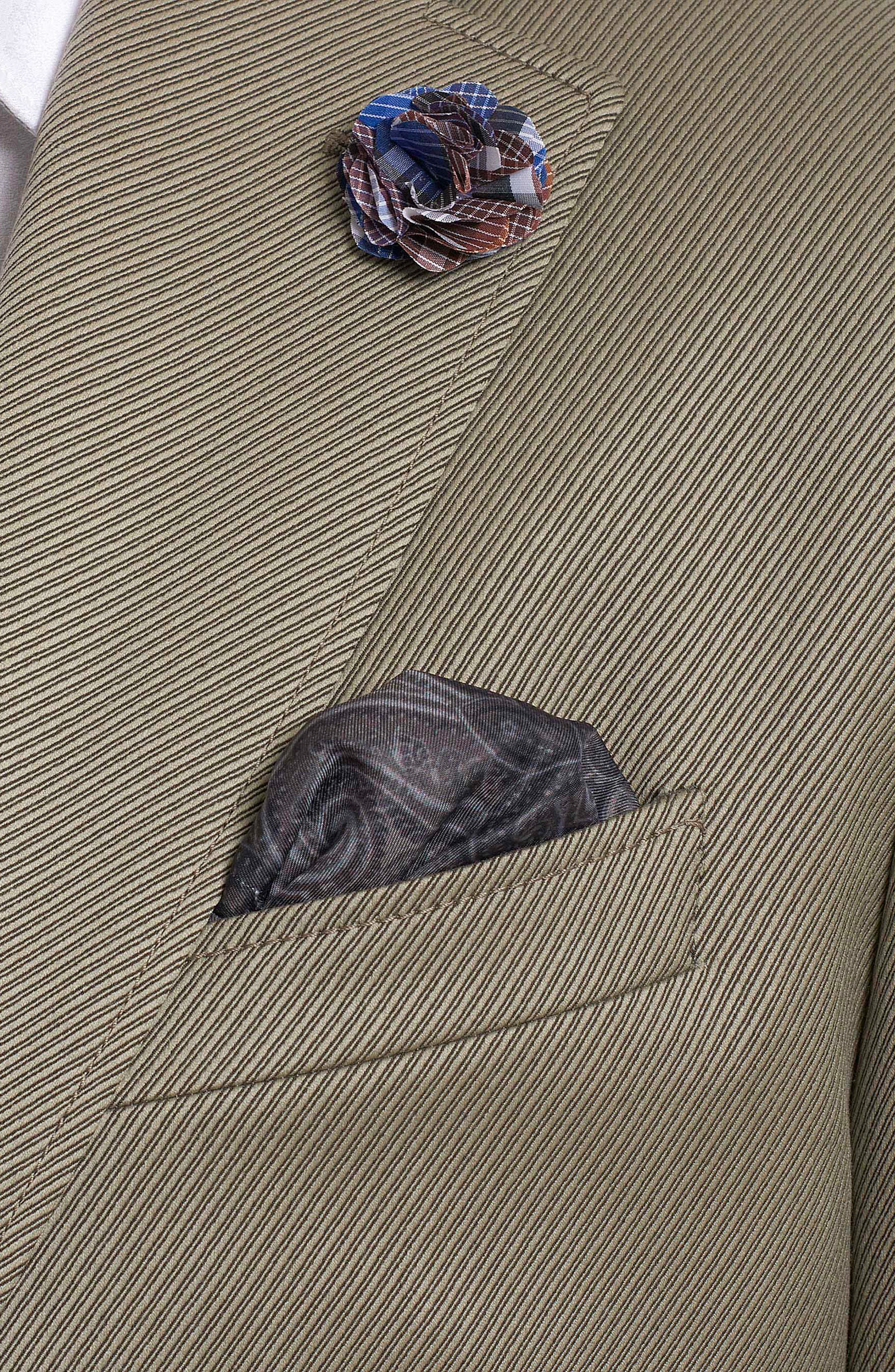 Castille Classic Fit Wool Blend Sport Coat,                             Alternate thumbnail 3, color,                             Taupe