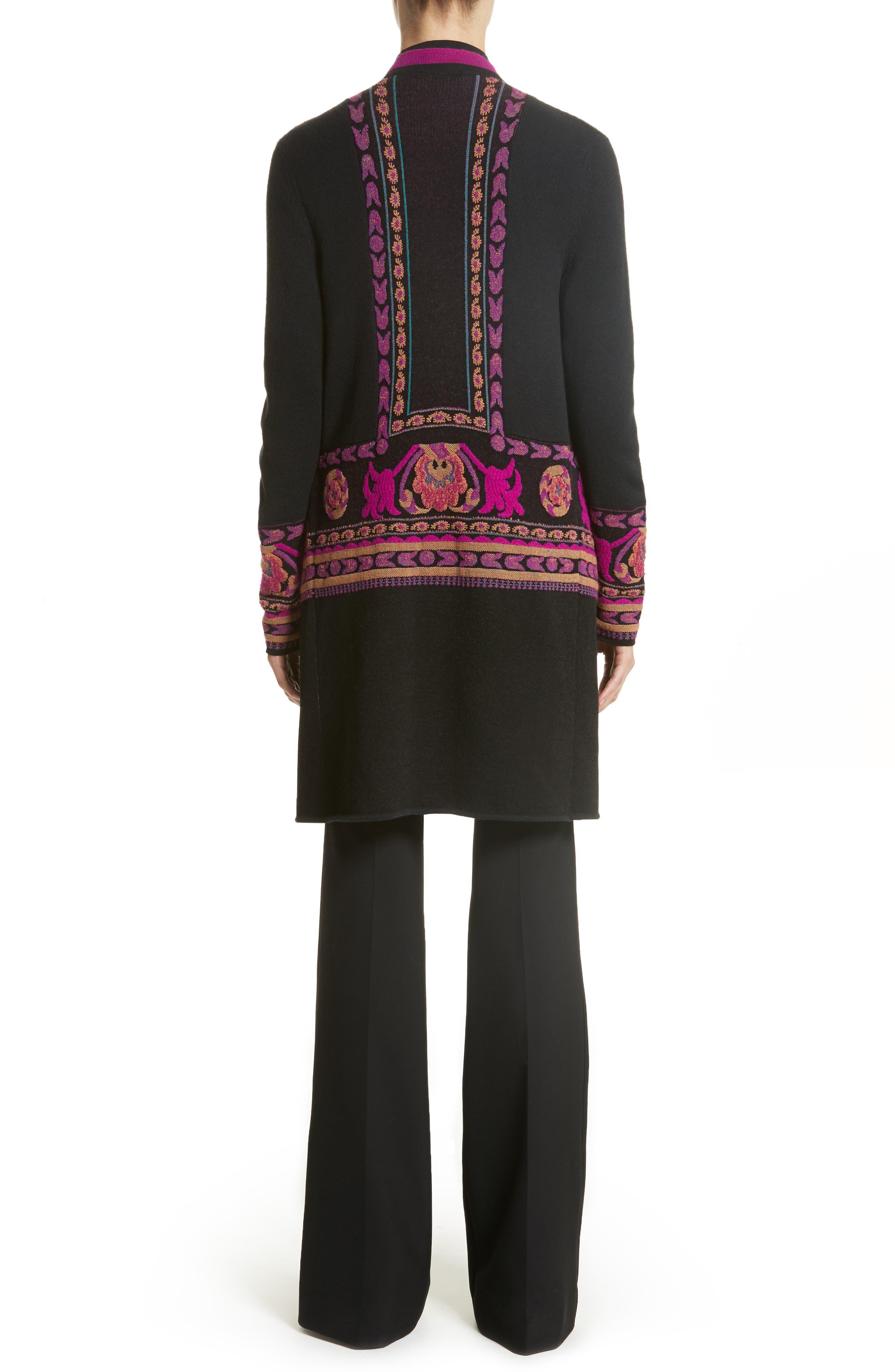 Alternate Image 2  - Etro Tassel Wool Blend Cardigan