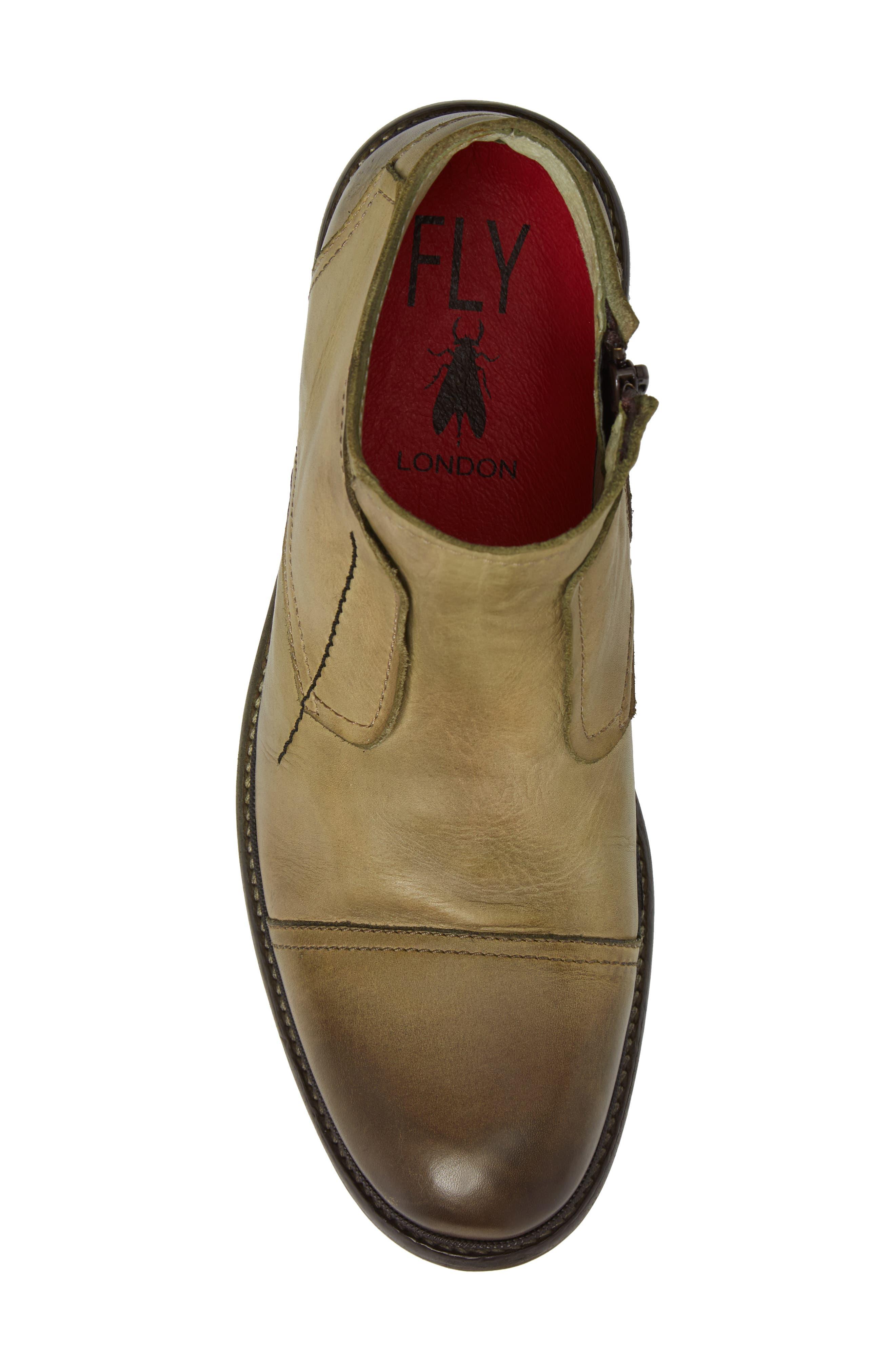 Hale Low Cap Toe Boot,                             Alternate thumbnail 4, color,                             Salvia