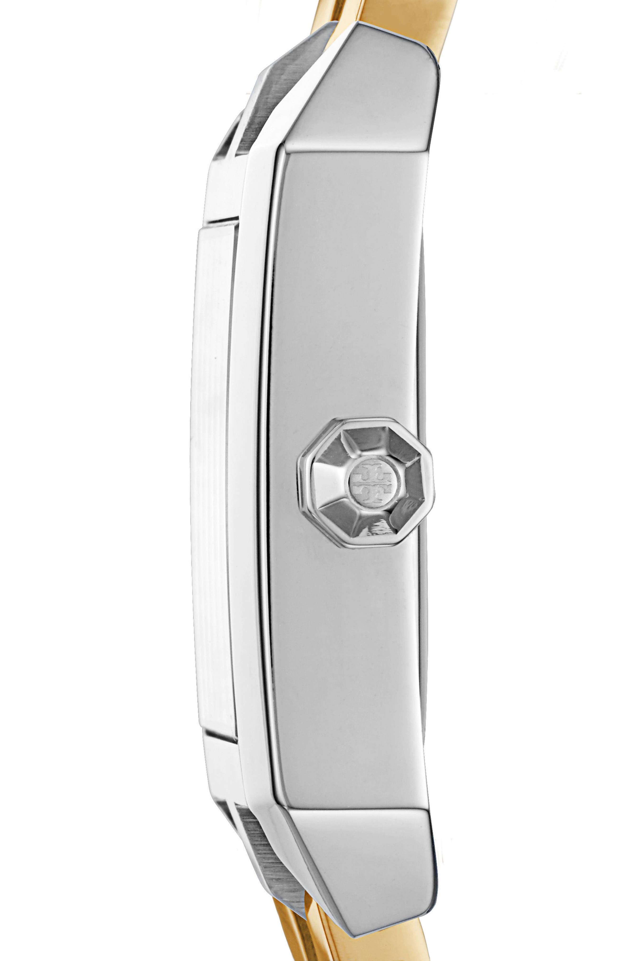 Alternate Image 2  - Tory Burch Dalloway Bracelet Watch, 23mm x 36.5mm