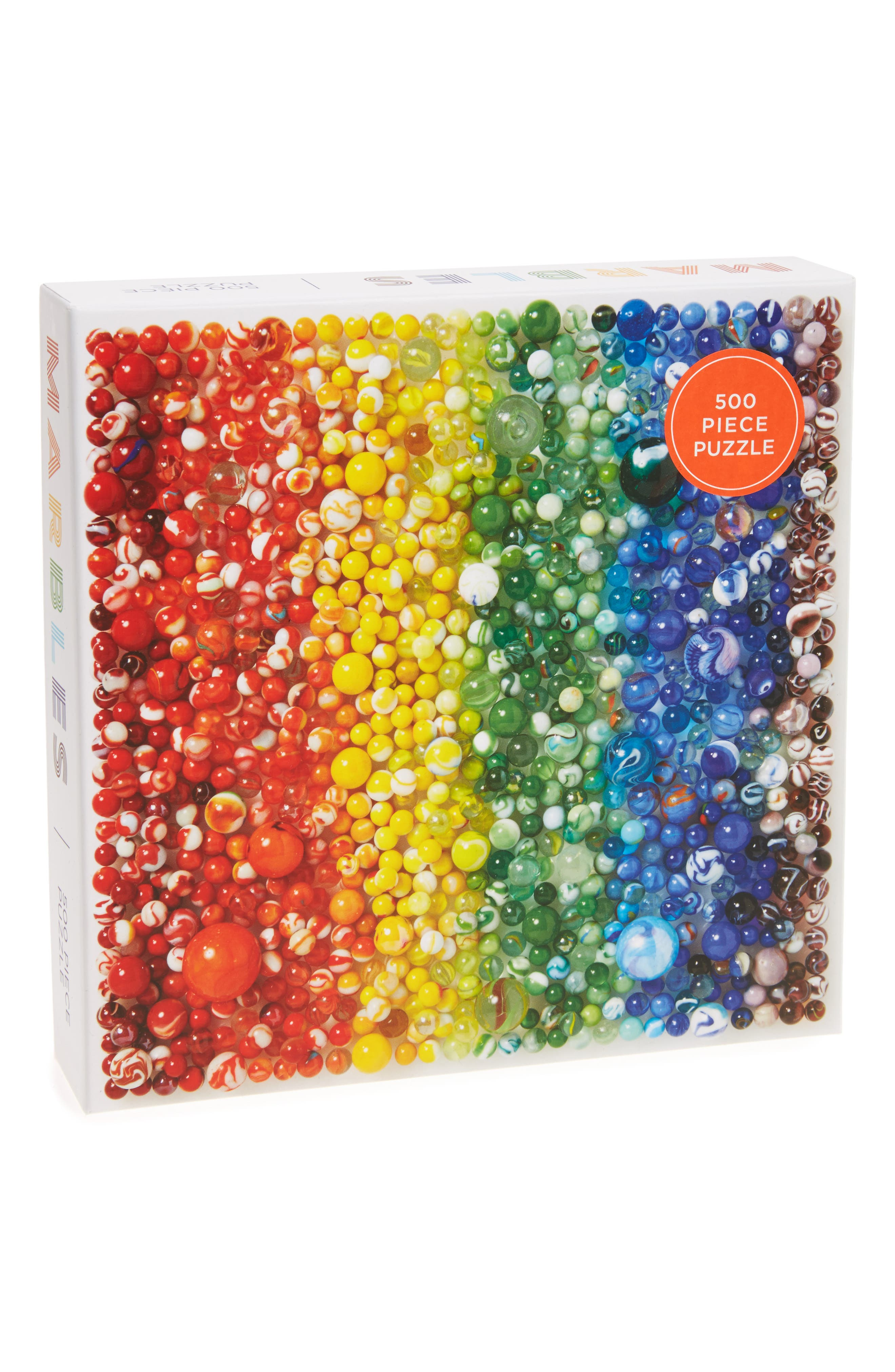 Chronicle Books Marbles 500-Piece Puzzle