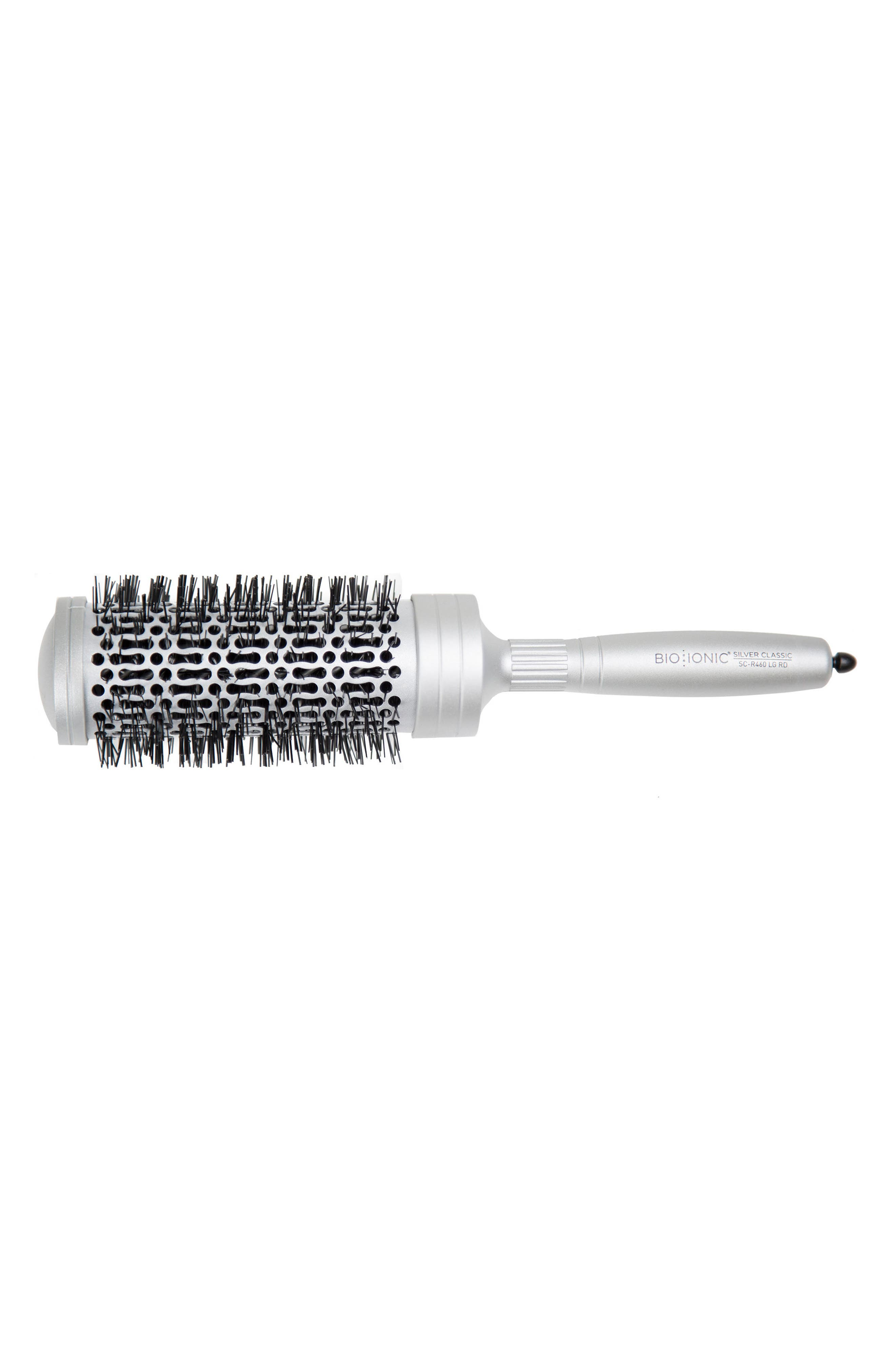 'SilverClassic' Large Round Brush,                         Main,                         color, No Color