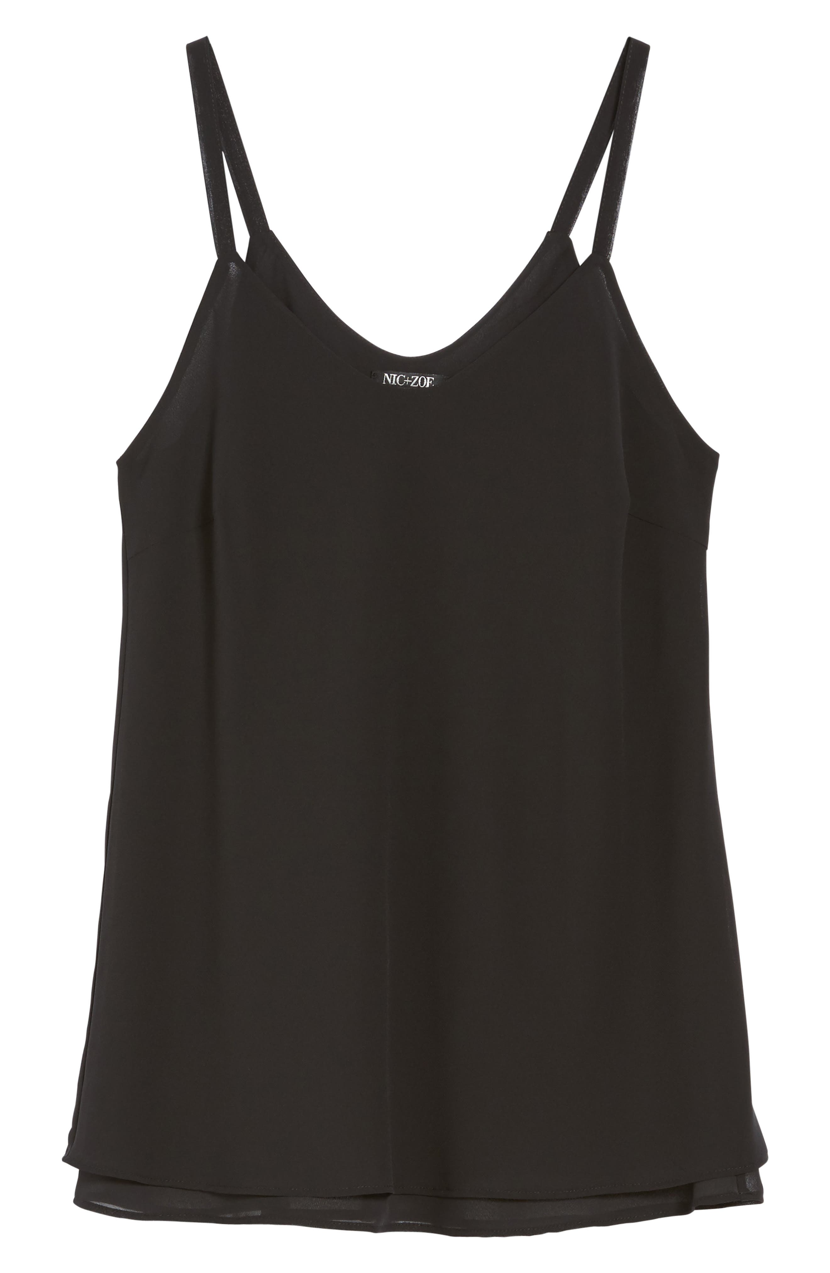 Paired Up Tank,                             Alternate thumbnail 6, color,                             Black Onyx