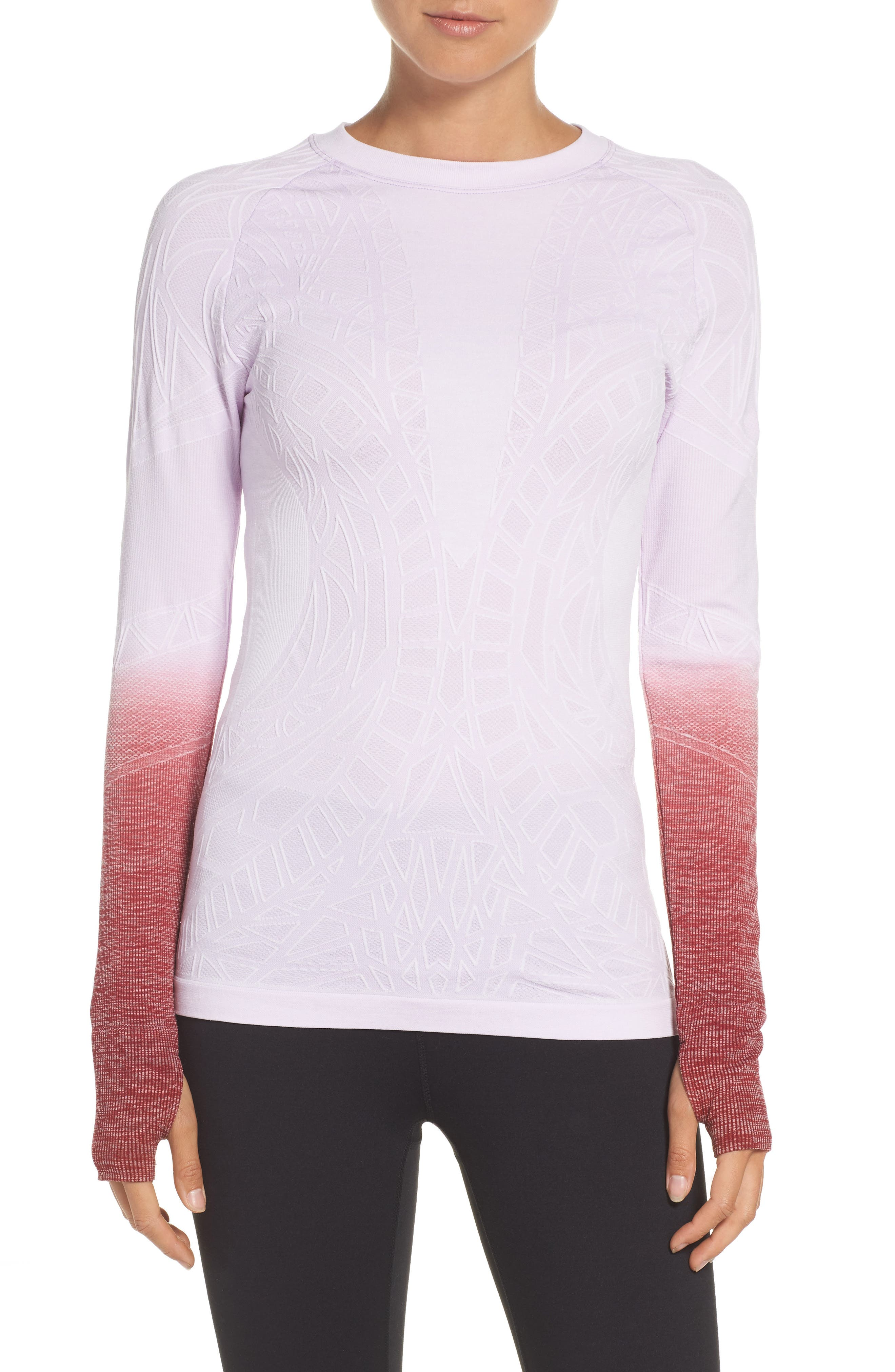 Revolution Running Teee,                         Main,                         color, Pastel Lilac/ White/ Zinfandel